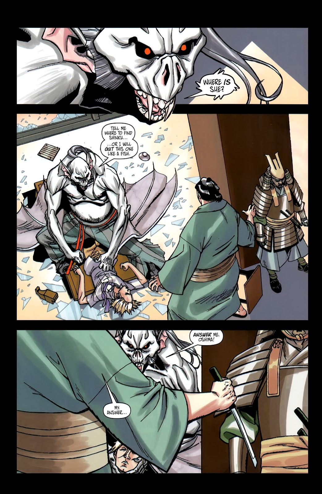 Read online Shinku comic -  Issue #5 - 4