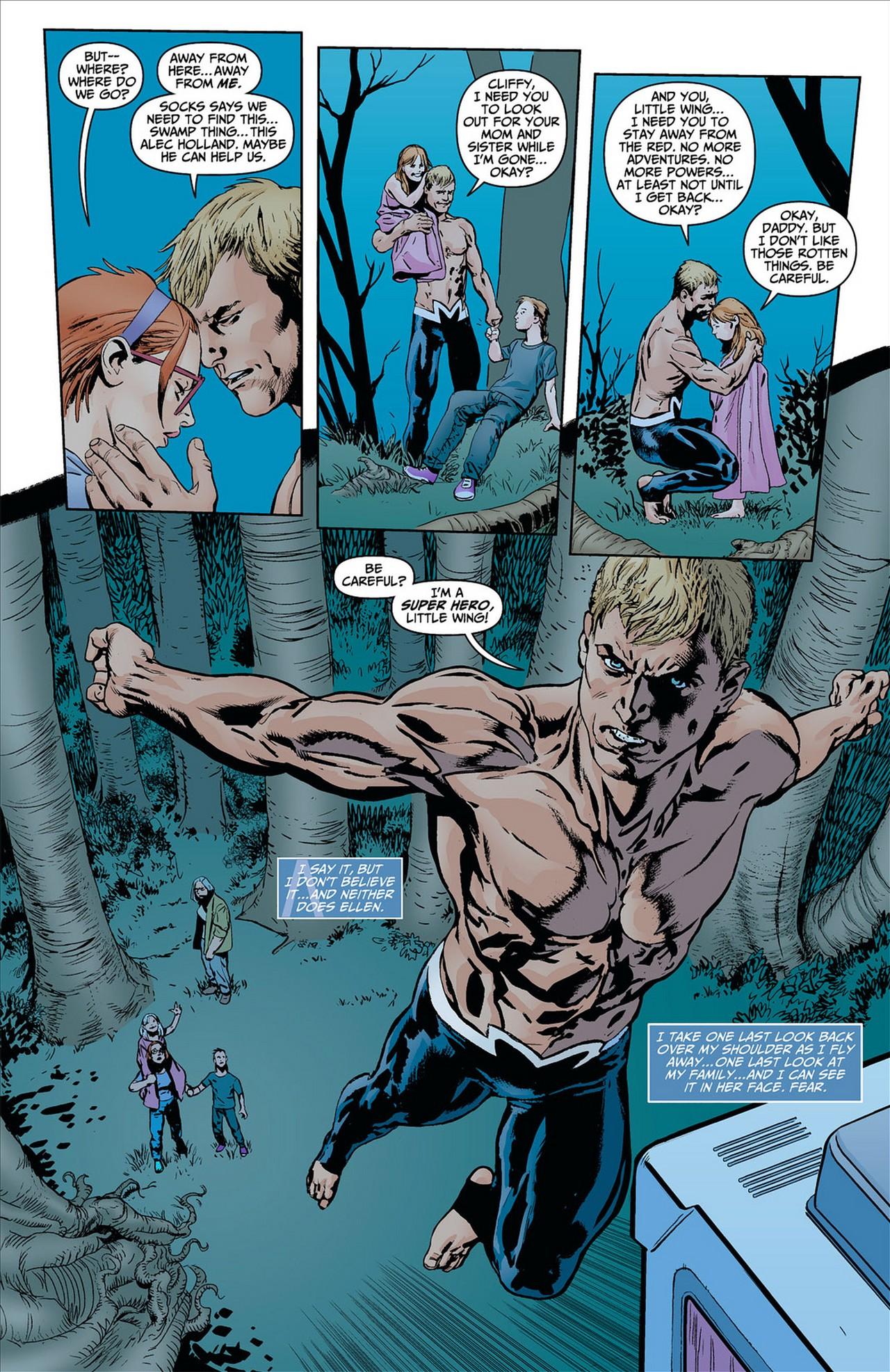 Read online Animal Man (2011) comic -  Issue #8 - 13