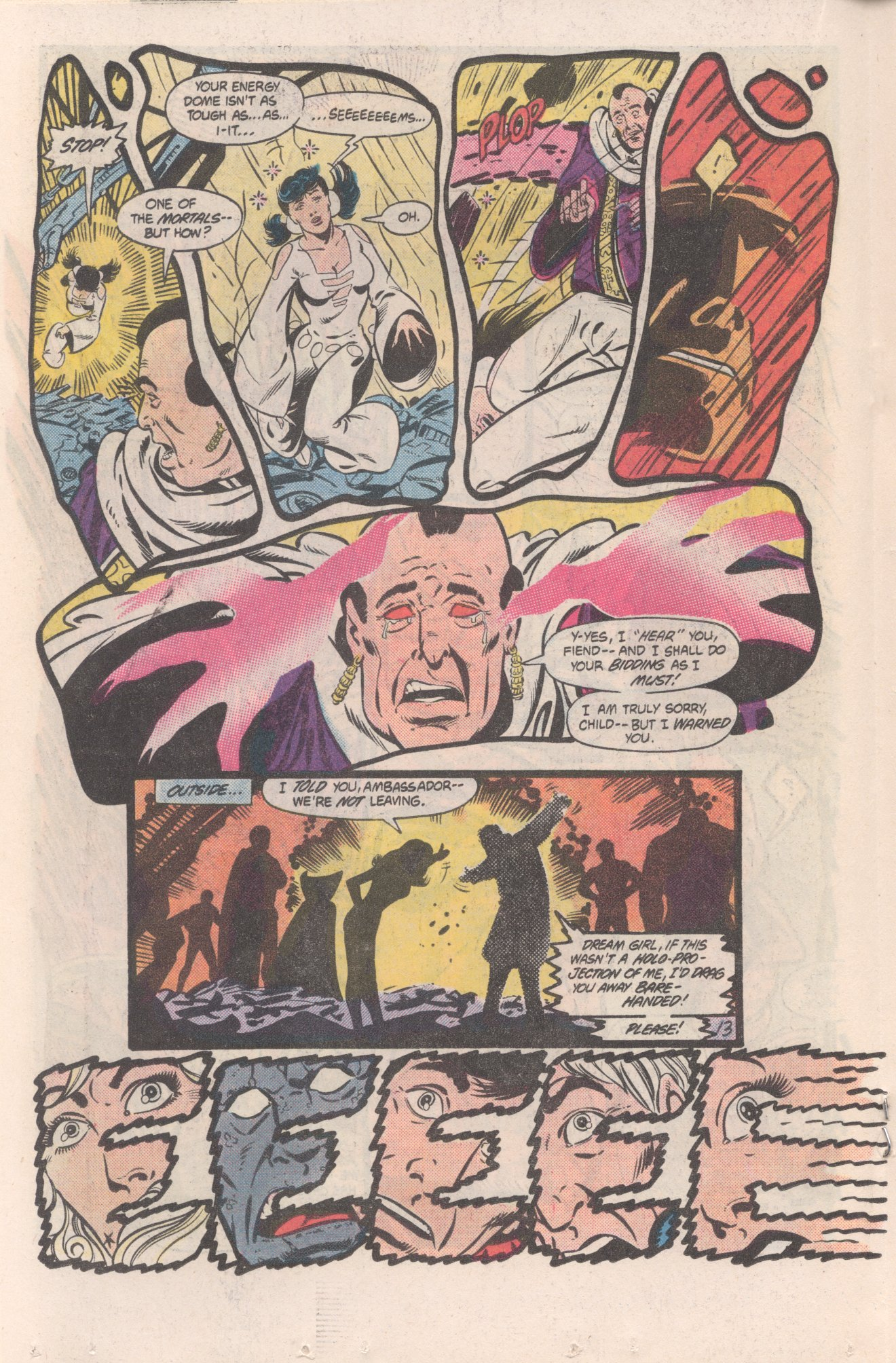 Legion of Super-Heroes (1980) 310 Page 13