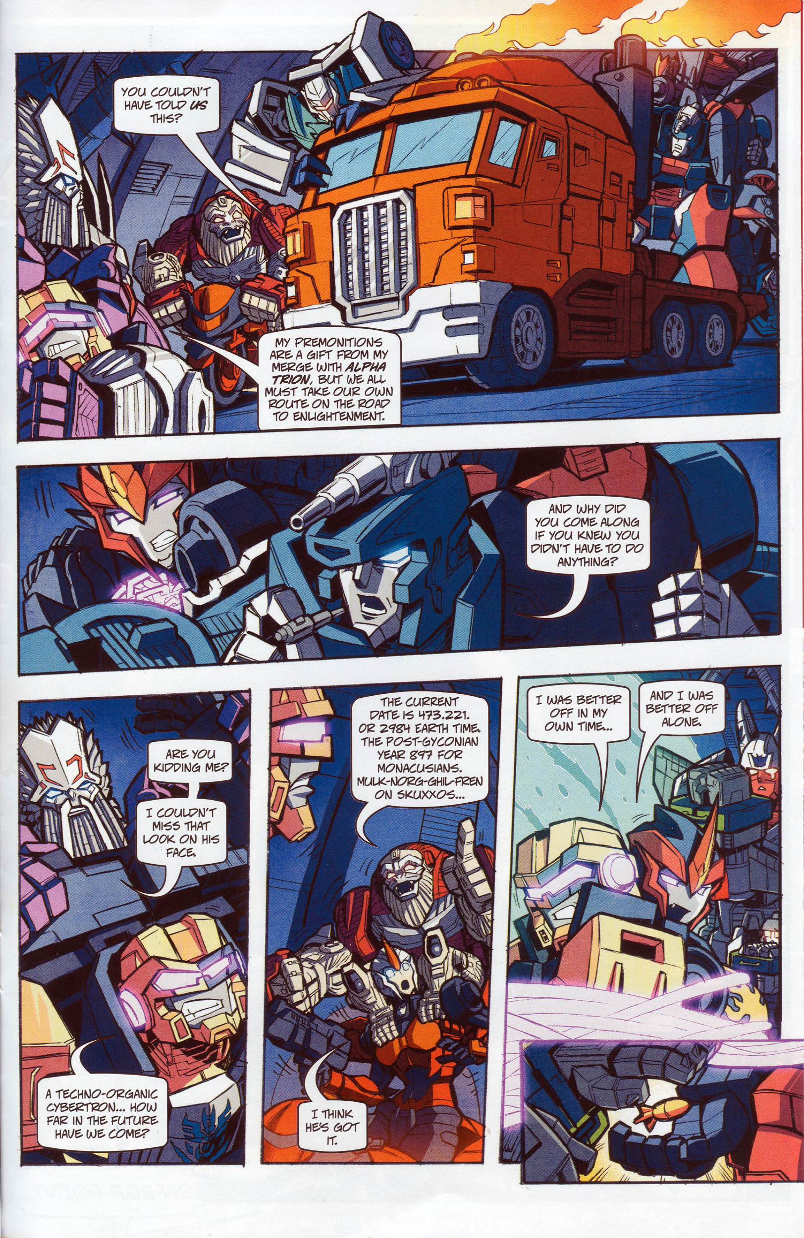 Read online Transformers: Timelines comic -  Issue #10 - 23