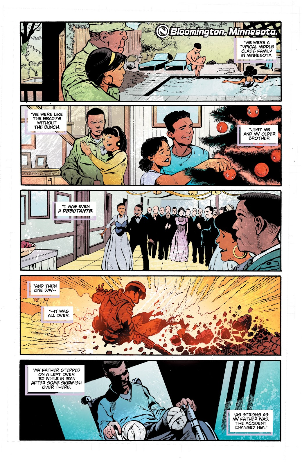 Read online Noble comic -  Issue #15 - 21