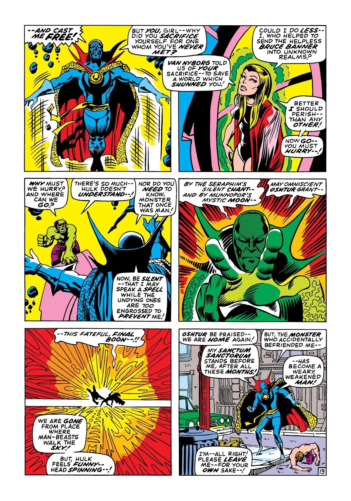 Read online Marvel Masterworks: The Incredible Hulk comic -  Issue # TPB 6 (Part 2) - 12