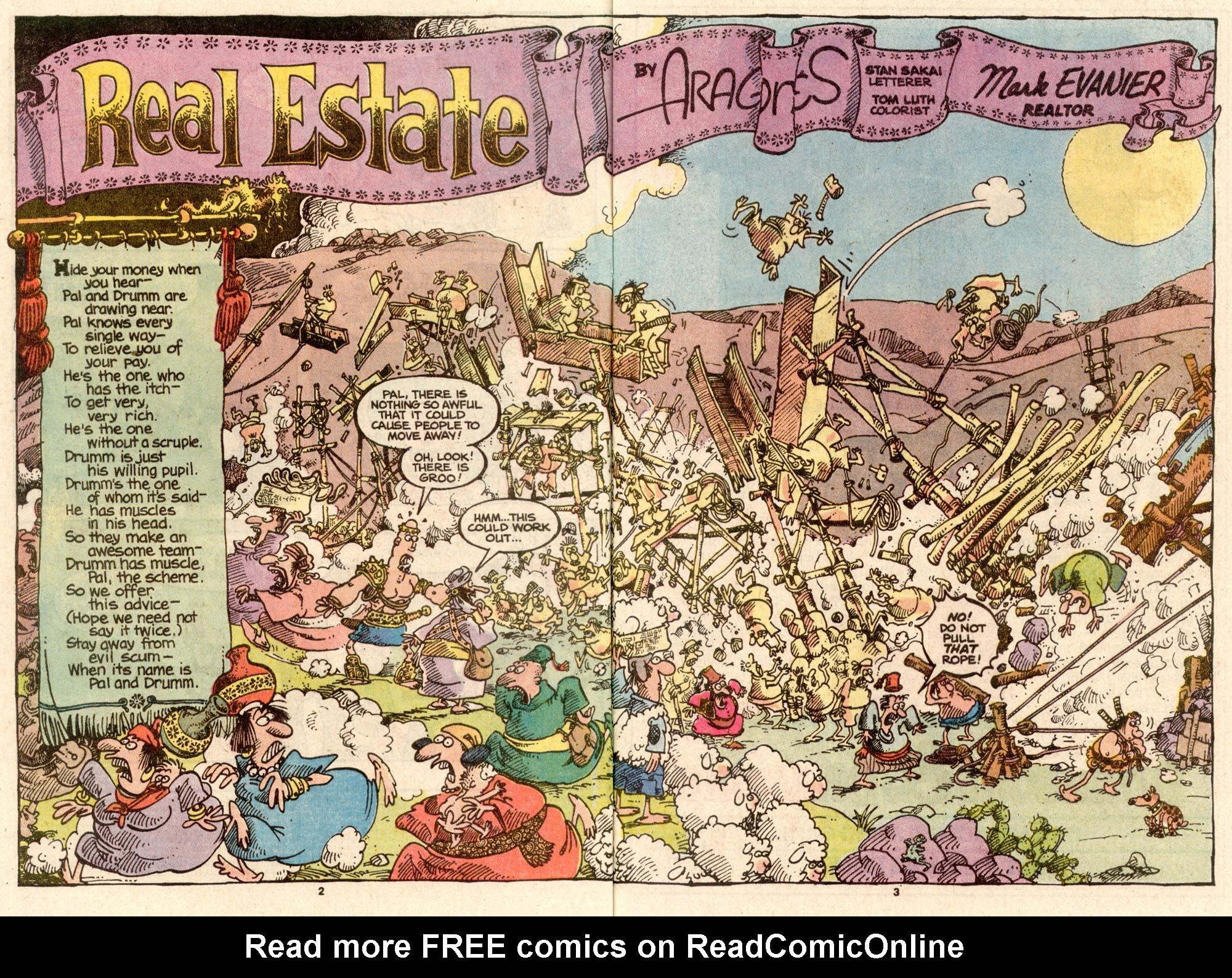 Read online Sergio Aragonés Groo the Wanderer comic -  Issue #63 - 3