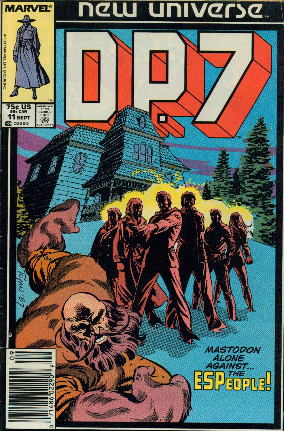 Read online DP7 comic -  Issue #11 - 1