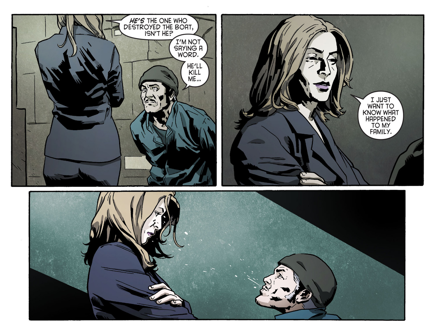Read online Arrow [II] comic -  Issue #5 - 14