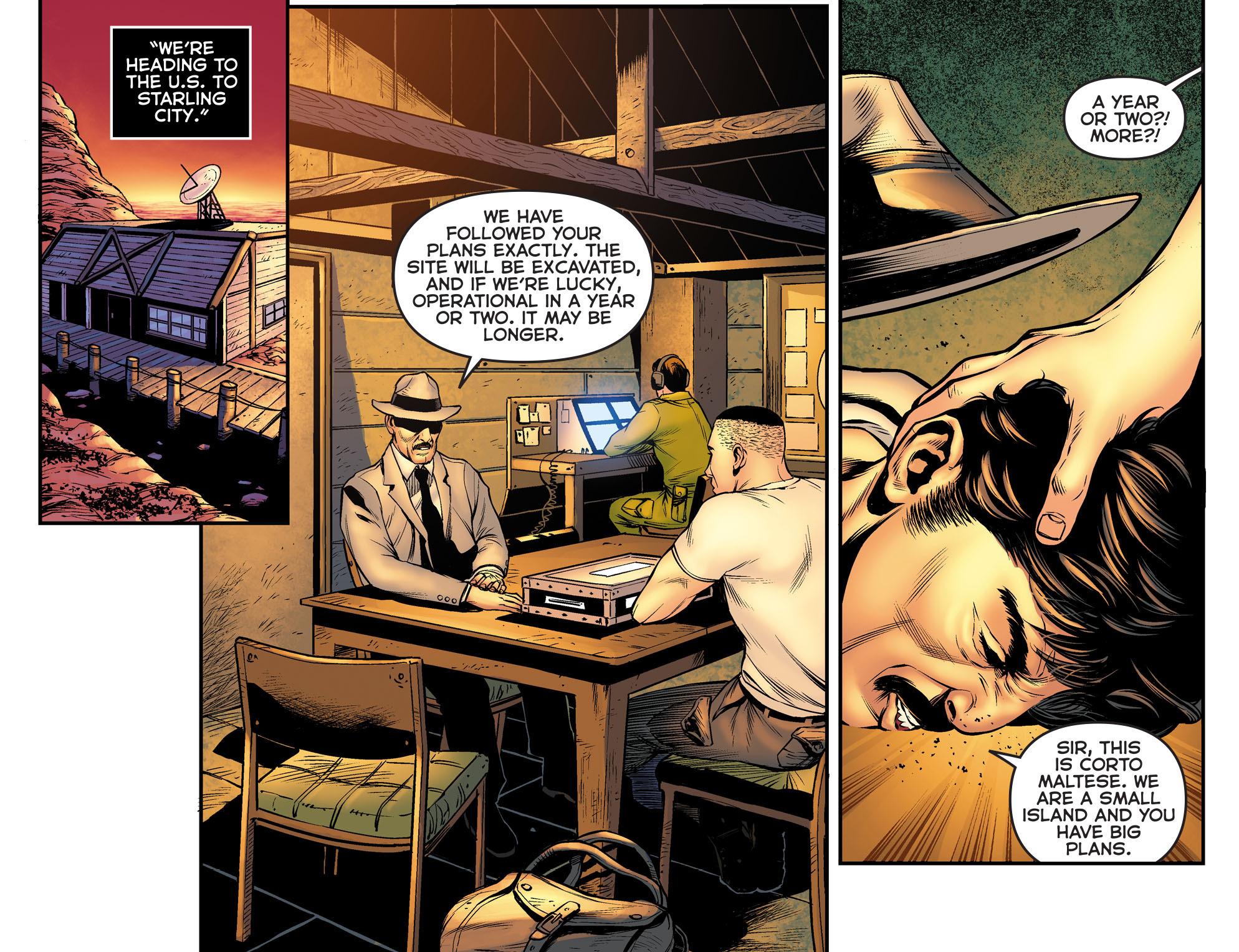 Read online Arrow: The Dark Archer comic -  Issue #10 - 4