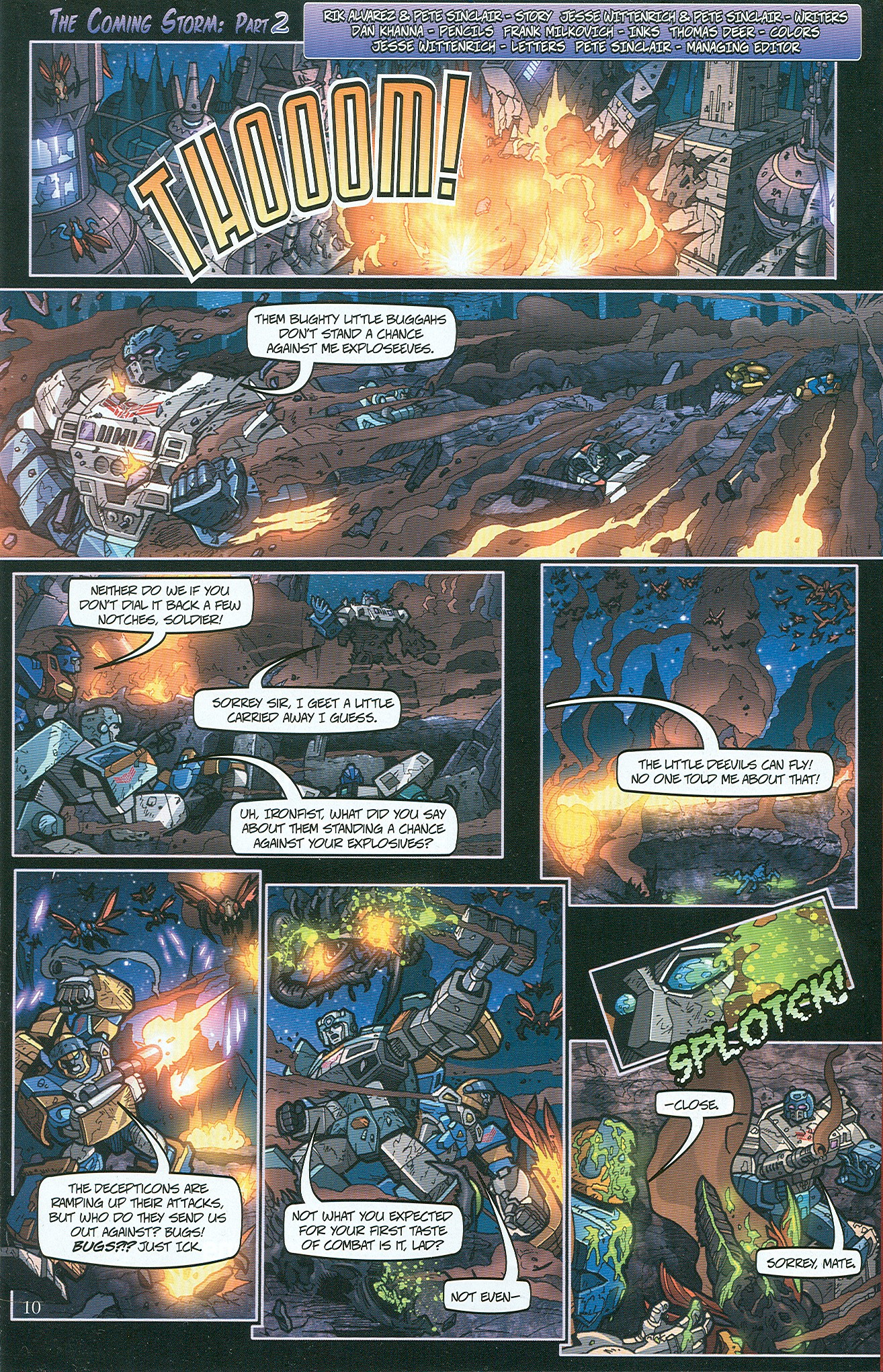 Read online Transformers: Collectors' Club comic -  Issue #32 - 10