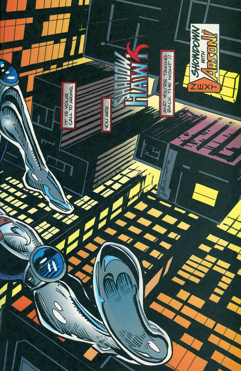 Read online ShadowHawk comic -  Issue #1 - 28