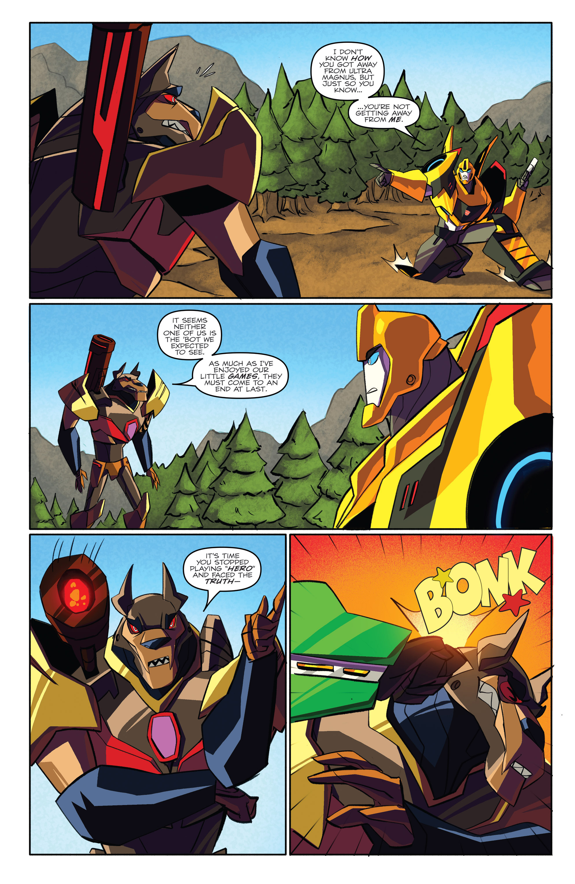 Read online Transformers: Robots In Disguise (2015) comic -  Issue #3 - 19