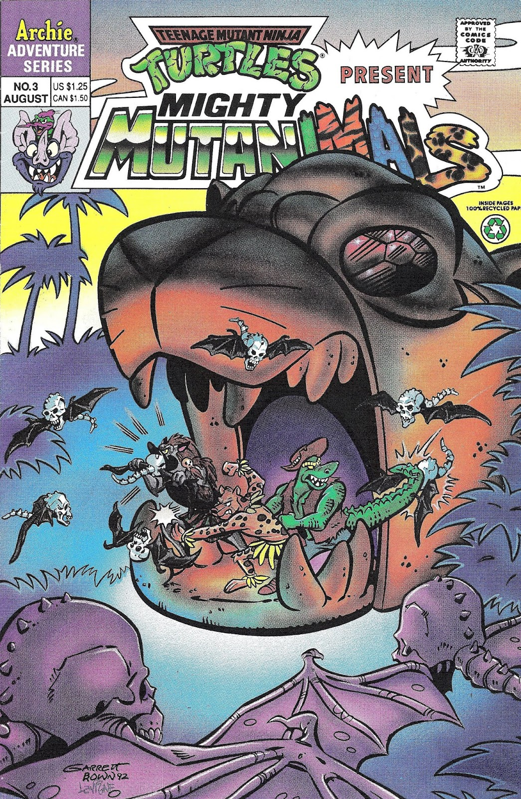 Mighty Mutanimals (1992) 3 Page 1
