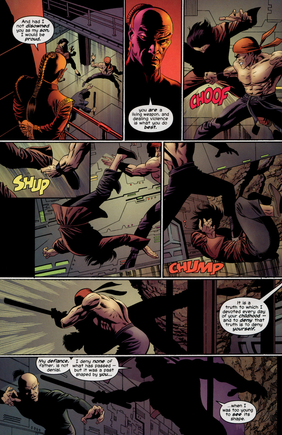 Read online Shang-Chi: Master of Kung Fu comic -  Issue #5 - 18