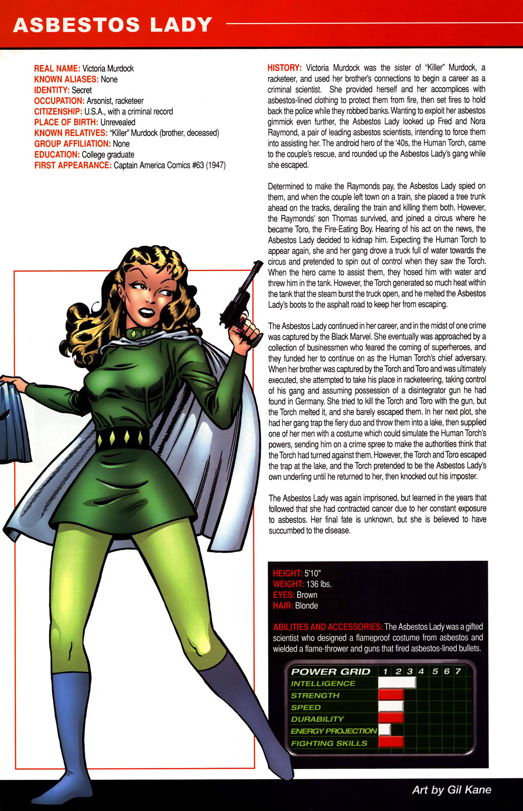 Read online All-New Official Handbook of the Marvel Universe A to Z comic -  Issue #1 - 32