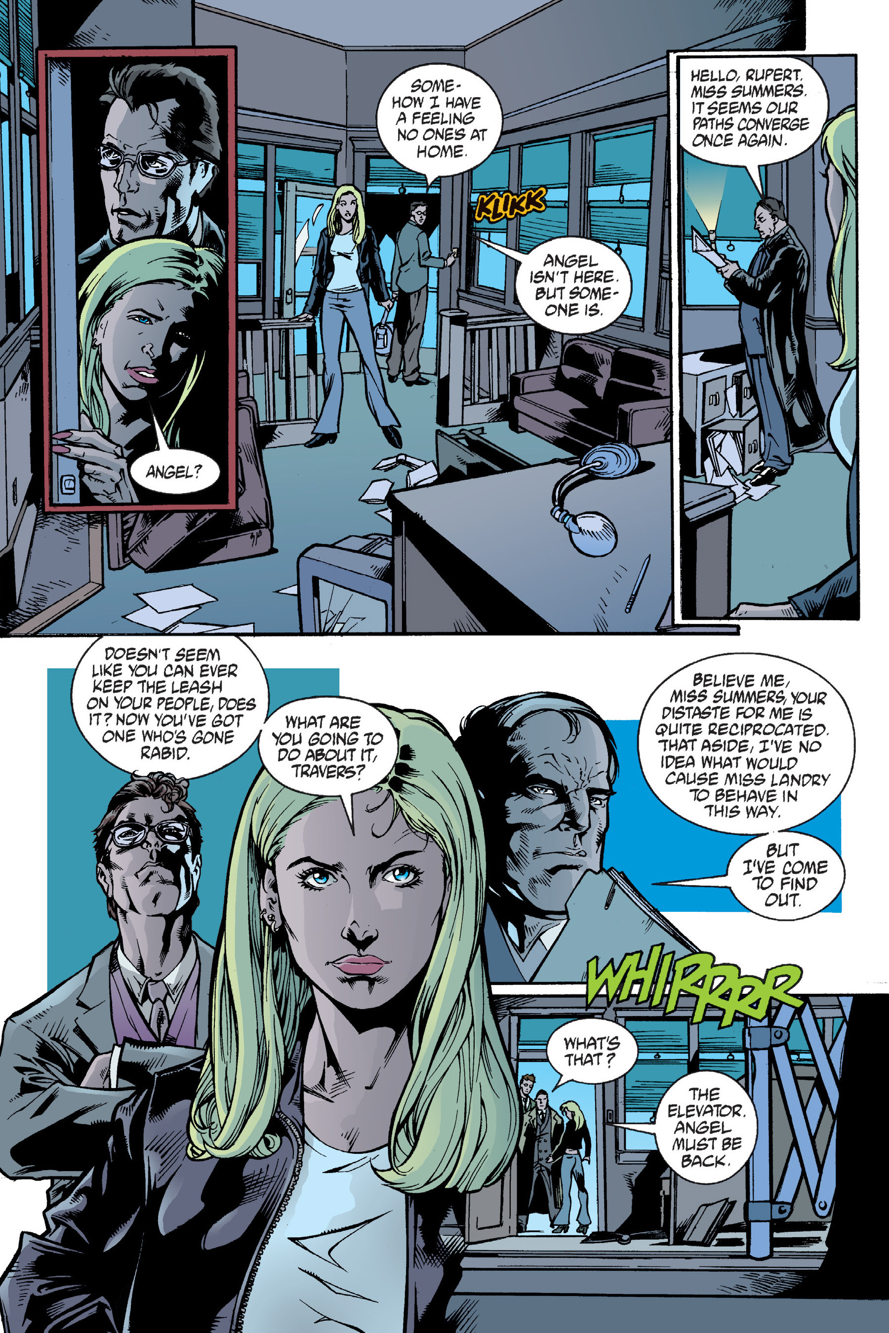 Read online Buffy the Vampire Slayer: Omnibus comic -  Issue # TPB 6 - 137