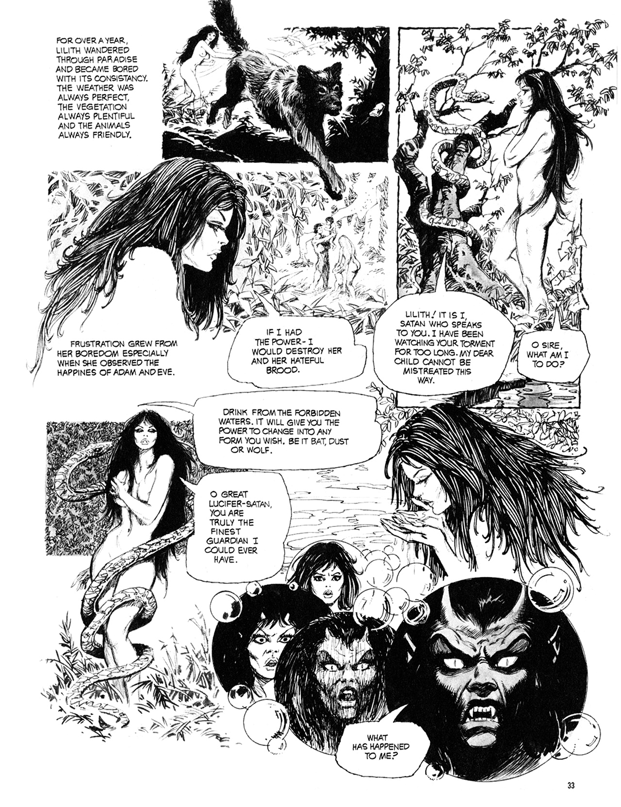 Read online Eerie Archives comic -  Issue # TPB 10 - 34