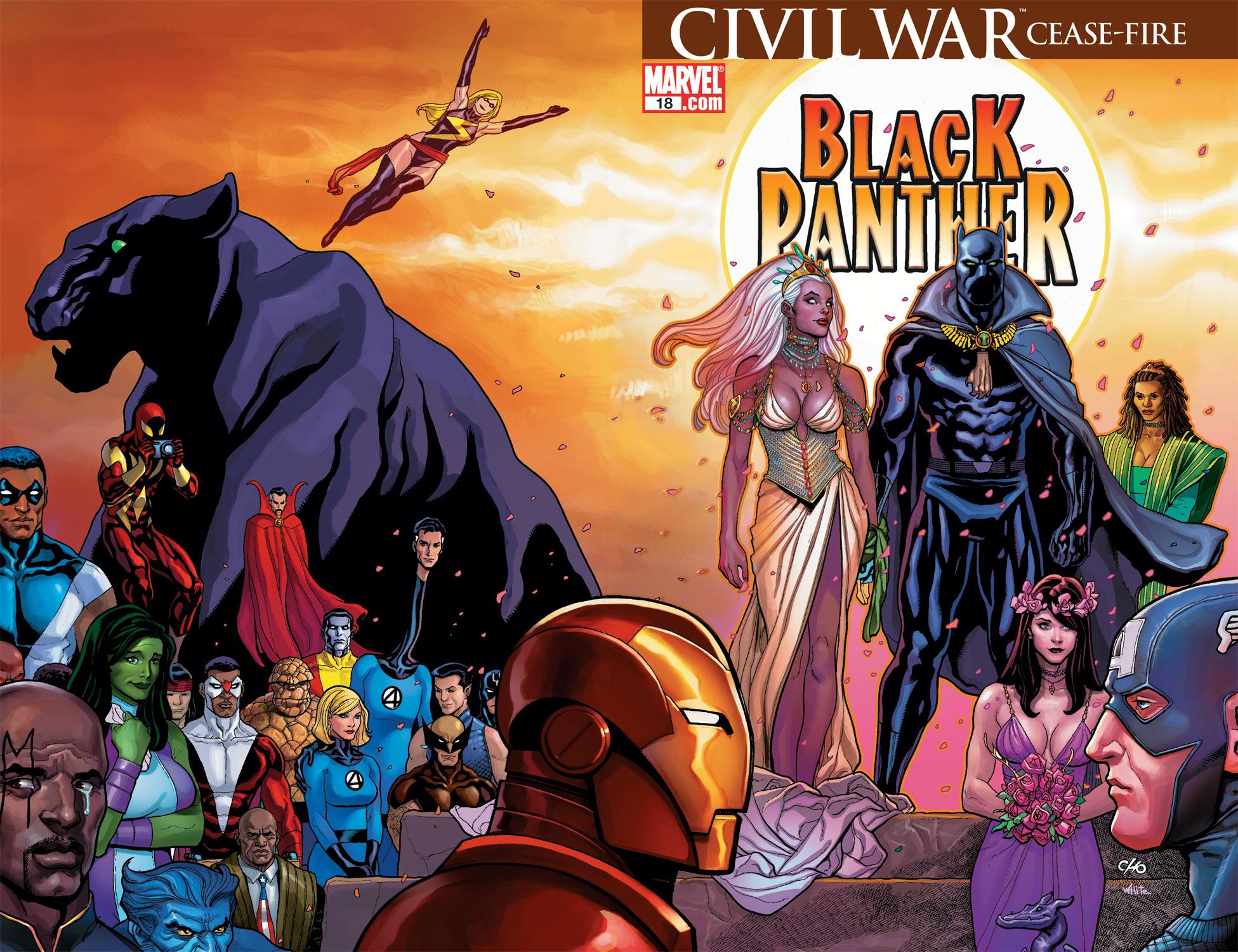 Black Panther (2005) 18 Page 1