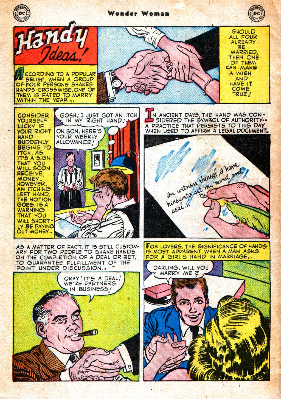 Read online Wonder Woman (1942) comic -  Issue #57 - 41