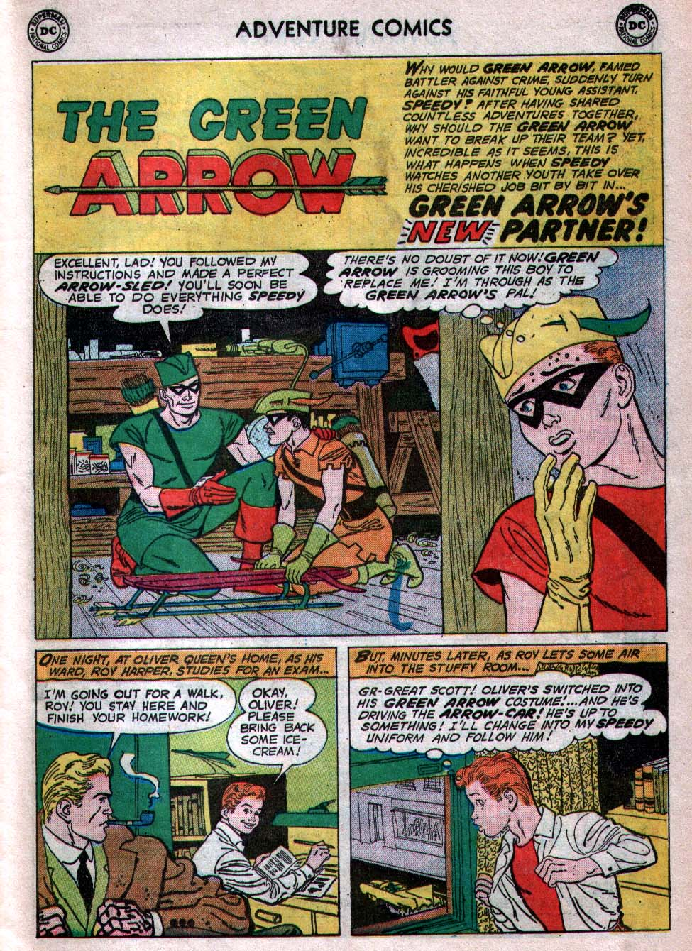 Read online Adventure Comics (1938) comic -  Issue #260 - 27