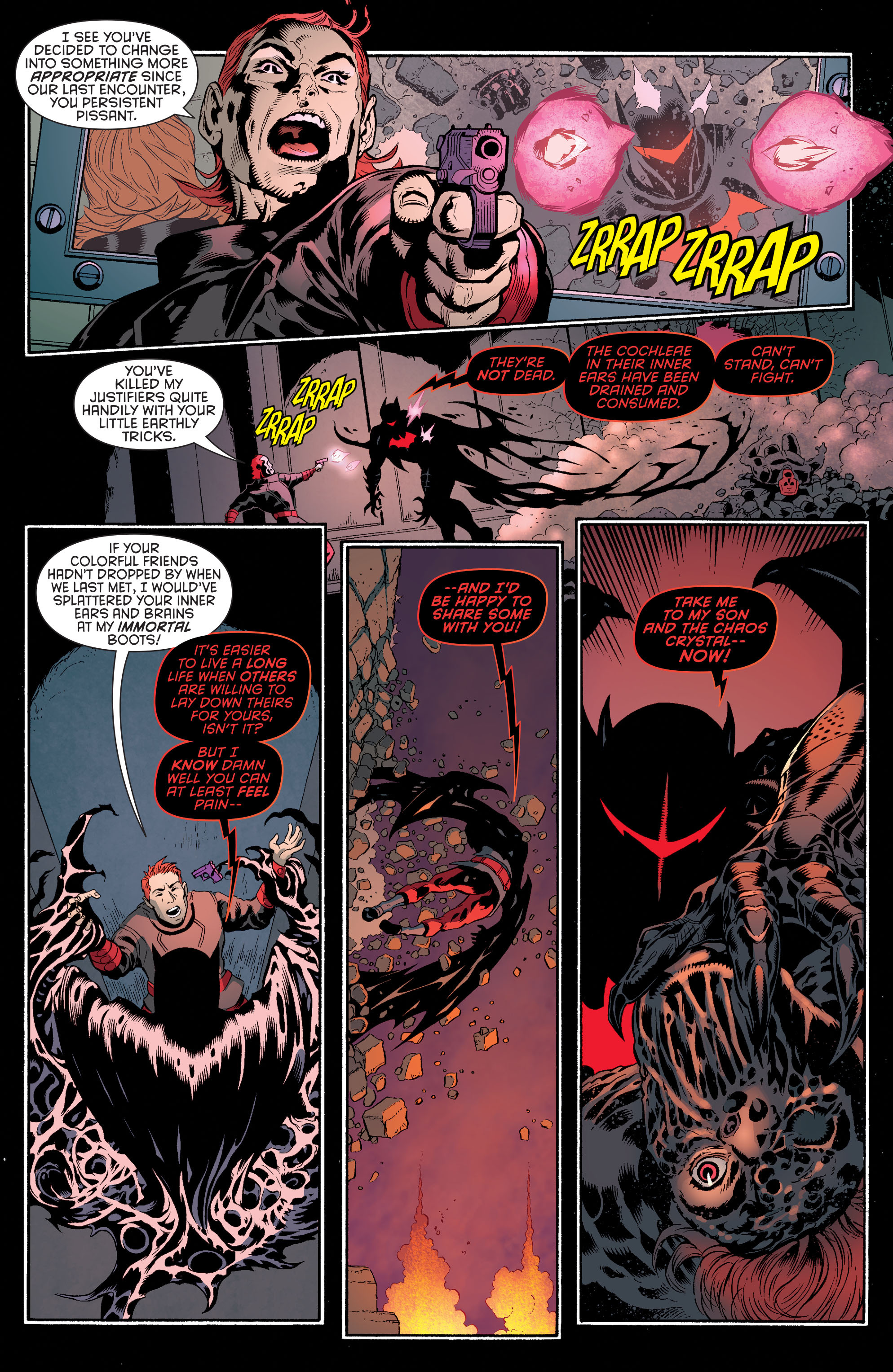 Read online Batman and Robin (2011) comic -  Issue #35 - 18