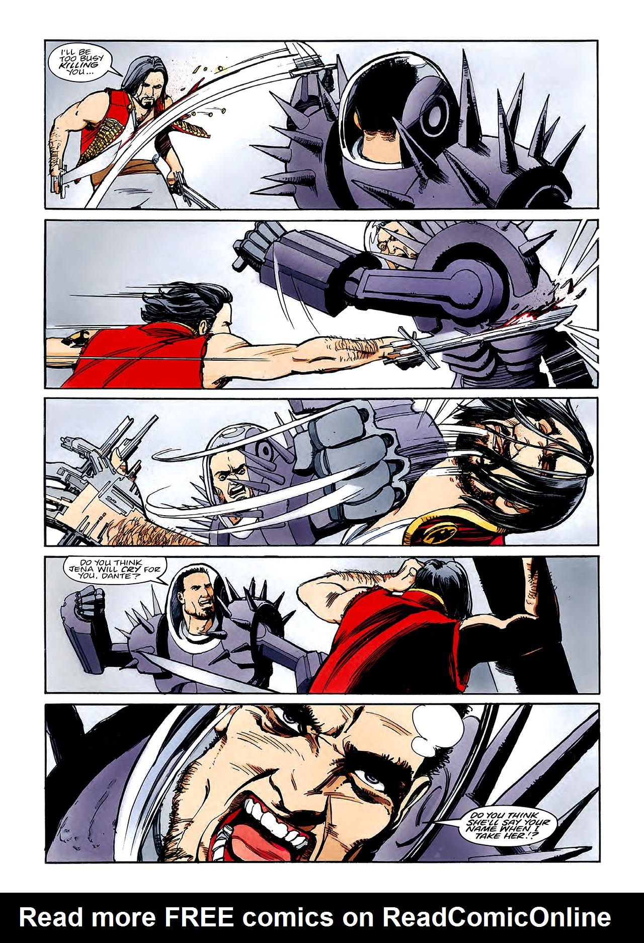 Read online Nikolai Dante comic -  Issue # TPB 3 - 121