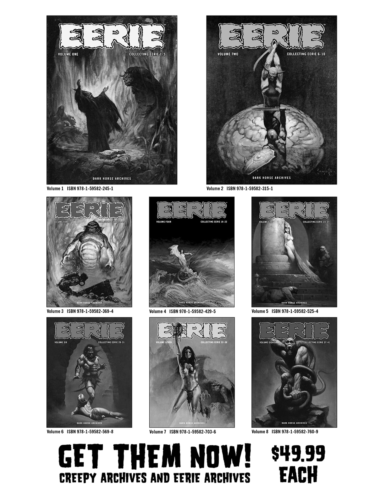 Read online Eerie Archives comic -  Issue # TPB 8 - 312