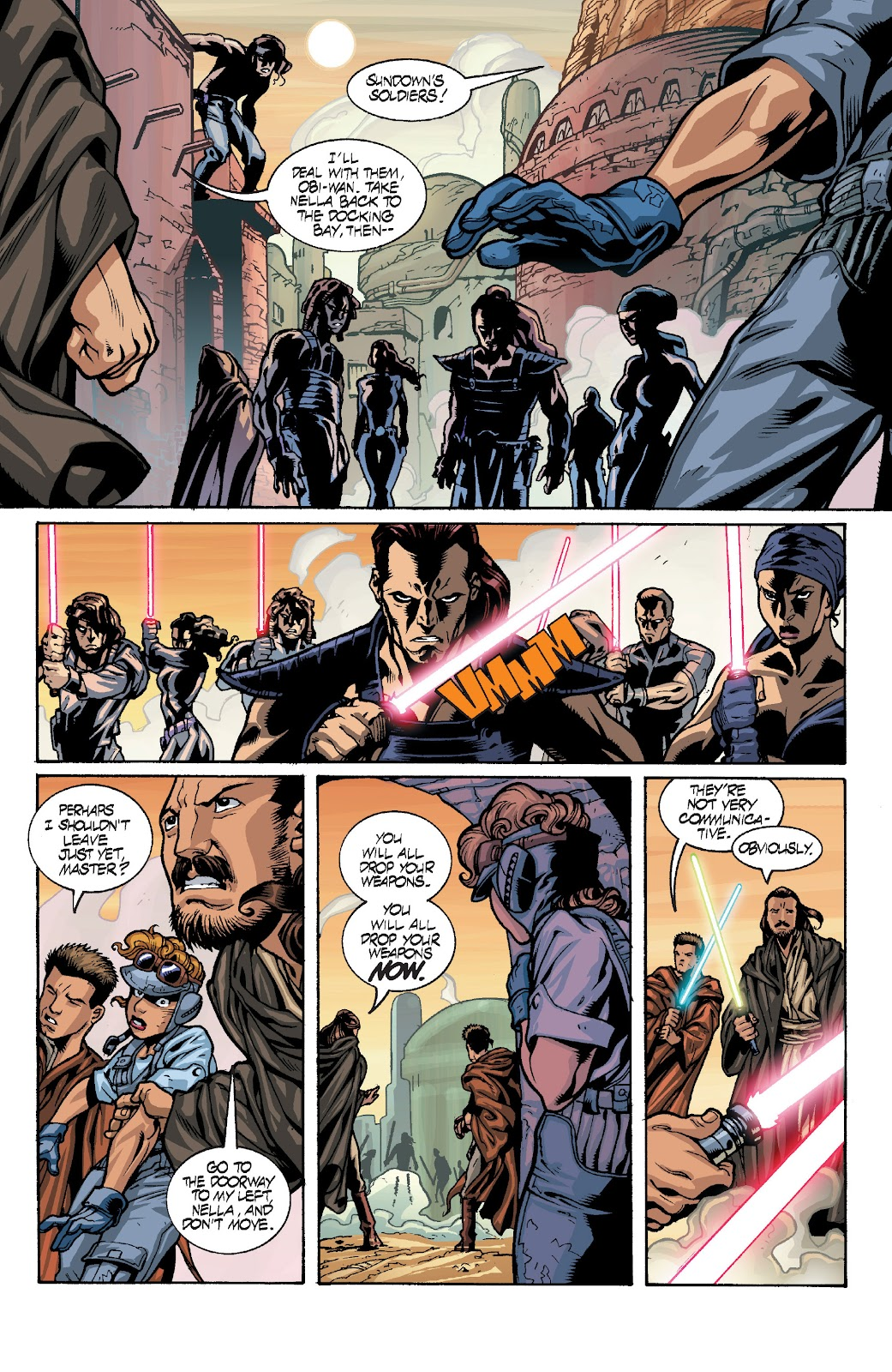 Read online Star Wars Legends: Rise of the Sith - Epic Collection comic -  Issue # TPB 1 (Part 4) - 12