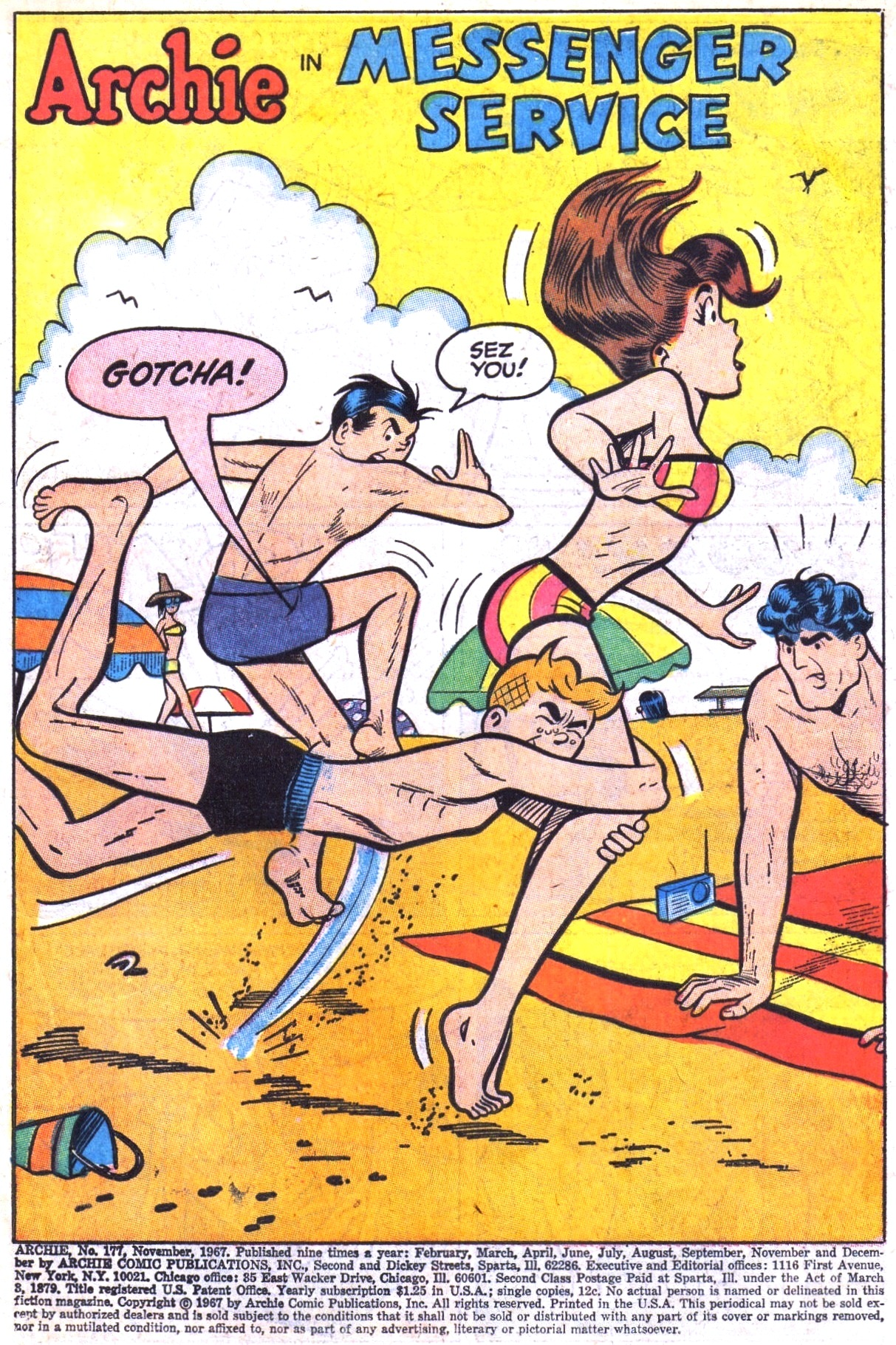 Read online Archie (1960) comic -  Issue #177 - 3