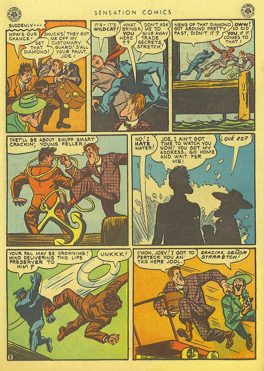 Read online Sensation (Mystery) Comics comic -  Issue #39 - 44