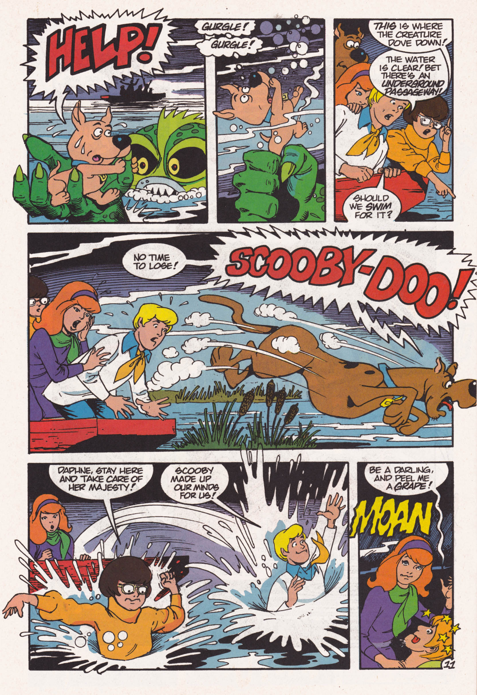 Read online Scooby-Doo (1995) comic -  Issue #1 - 12