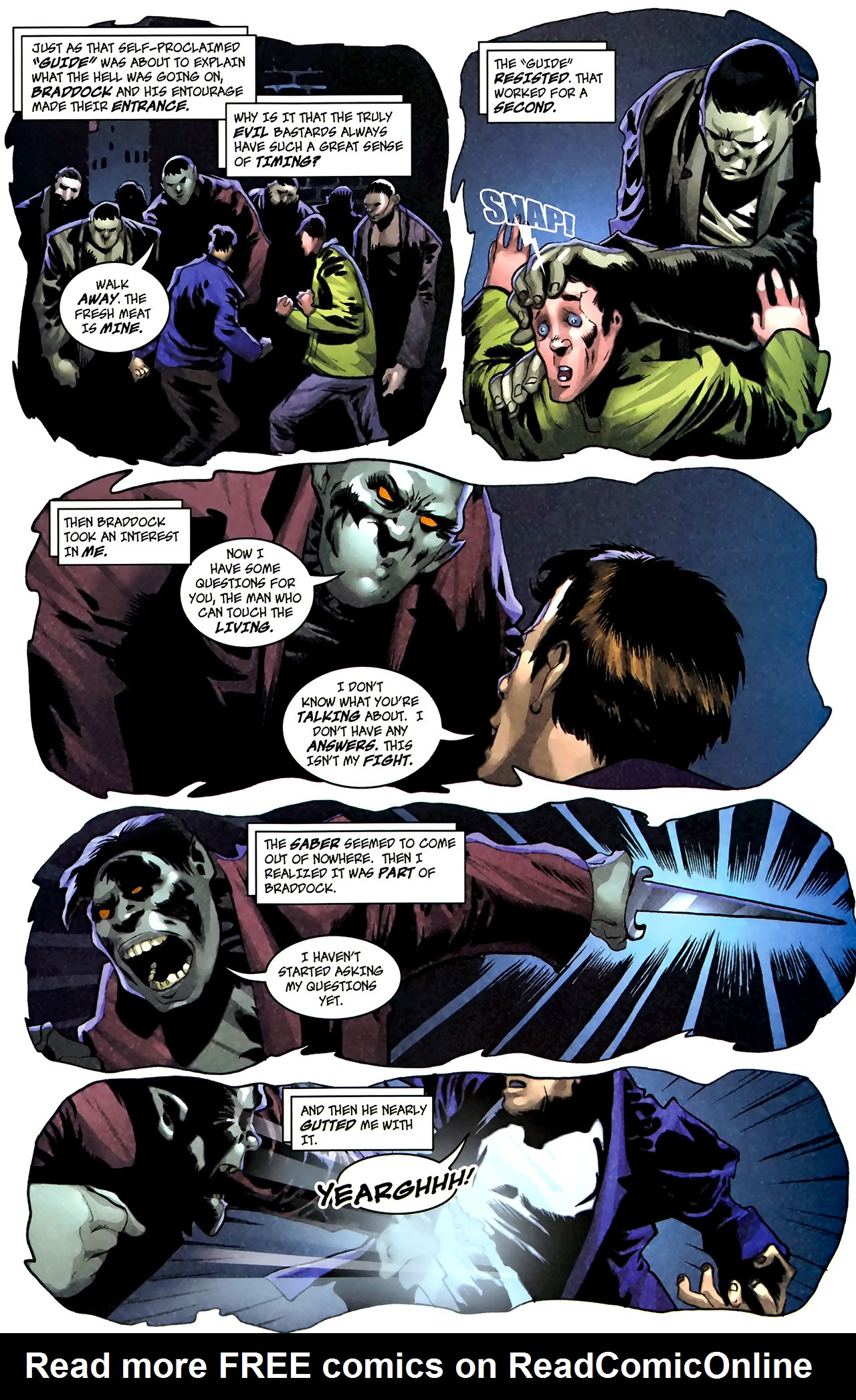 Read online The Grim Ghost comic -  Issue #1 - 11