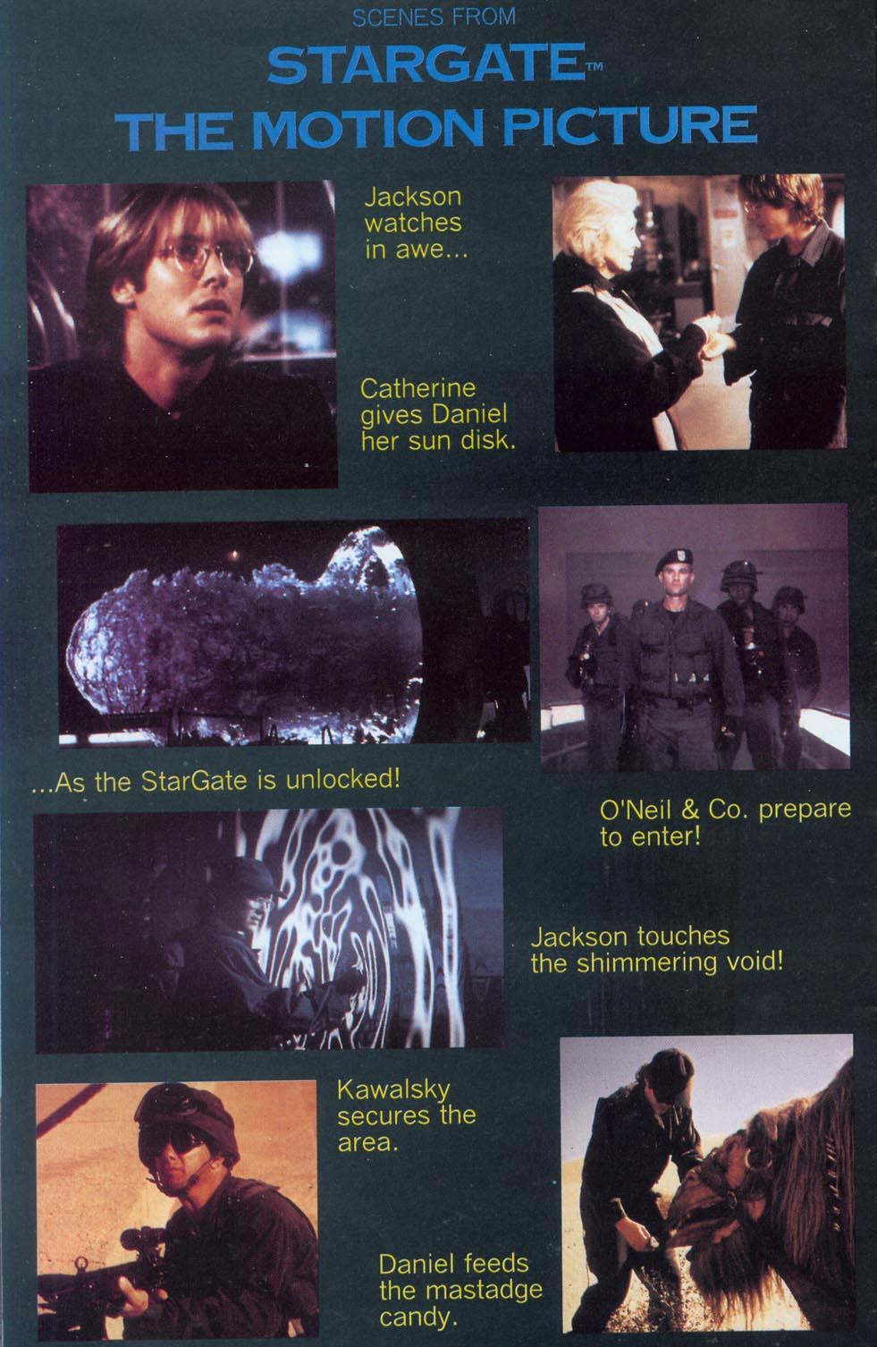 Read online Stargate comic -  Issue #1 - 26