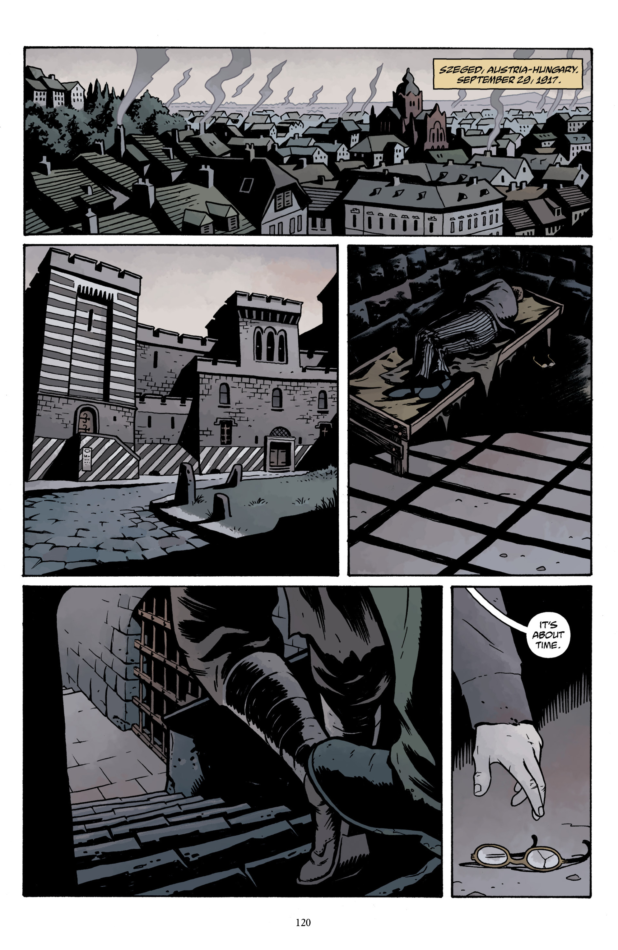 Read online Baltimore Volume 3: A Passing Stranger and Other Stories comic -  Issue # Full - 122