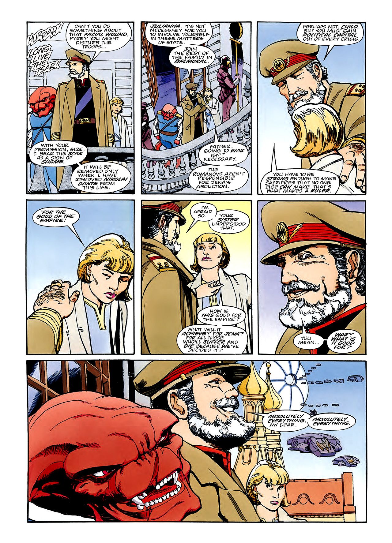 Read online Nikolai Dante comic -  Issue # TPB 3 - 99