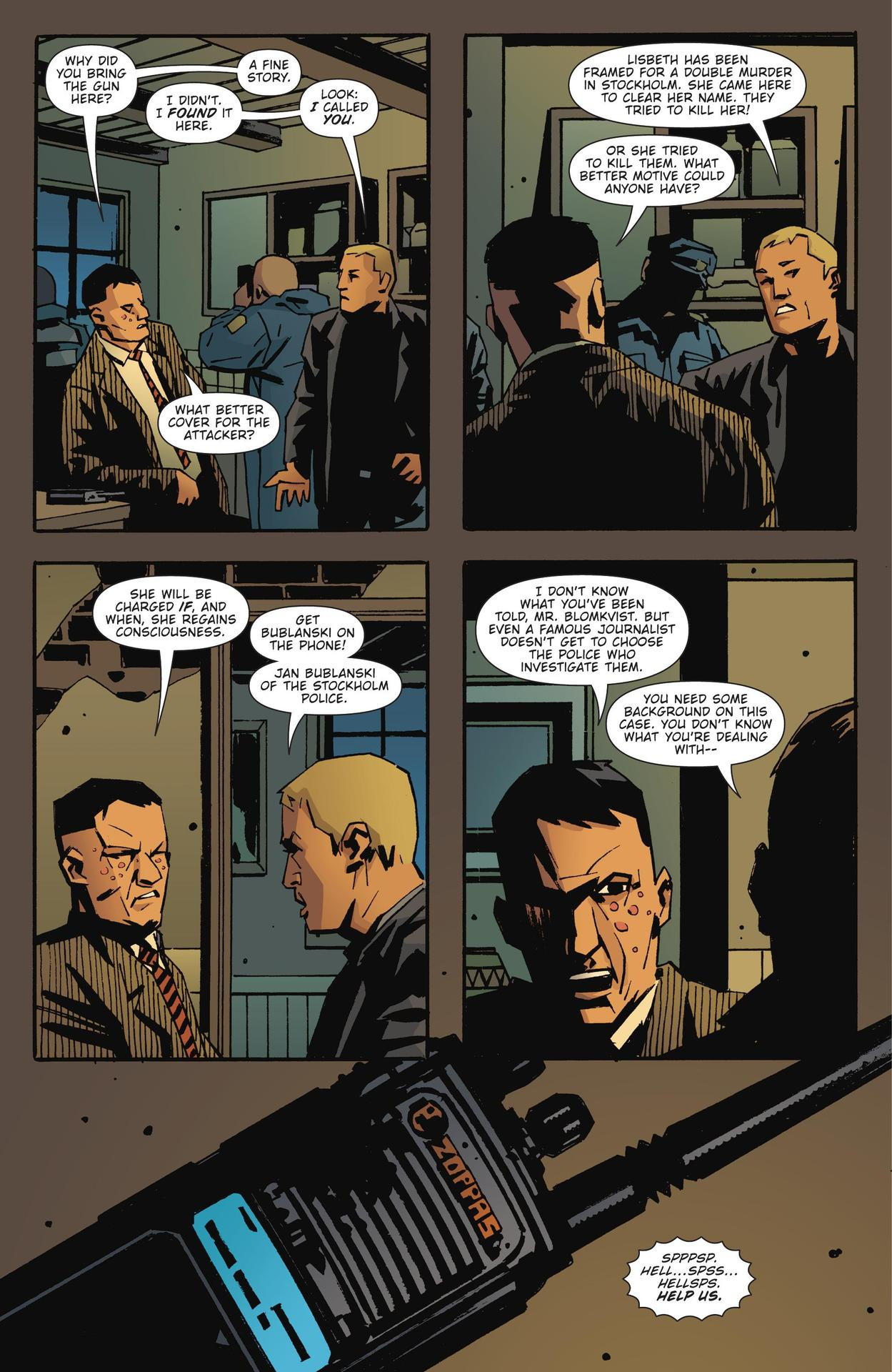Read online The Girl Who Kicked The Hornet's Nest comic -  Issue # TPB - 9