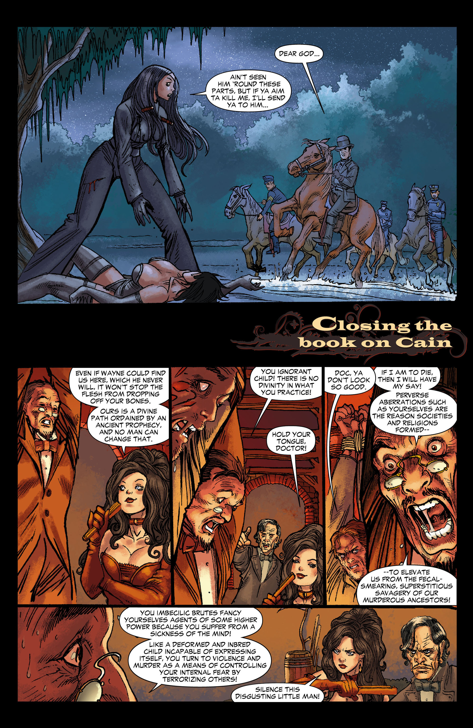 Read online All-Star Western (2011) comic -  Issue #12 - 14