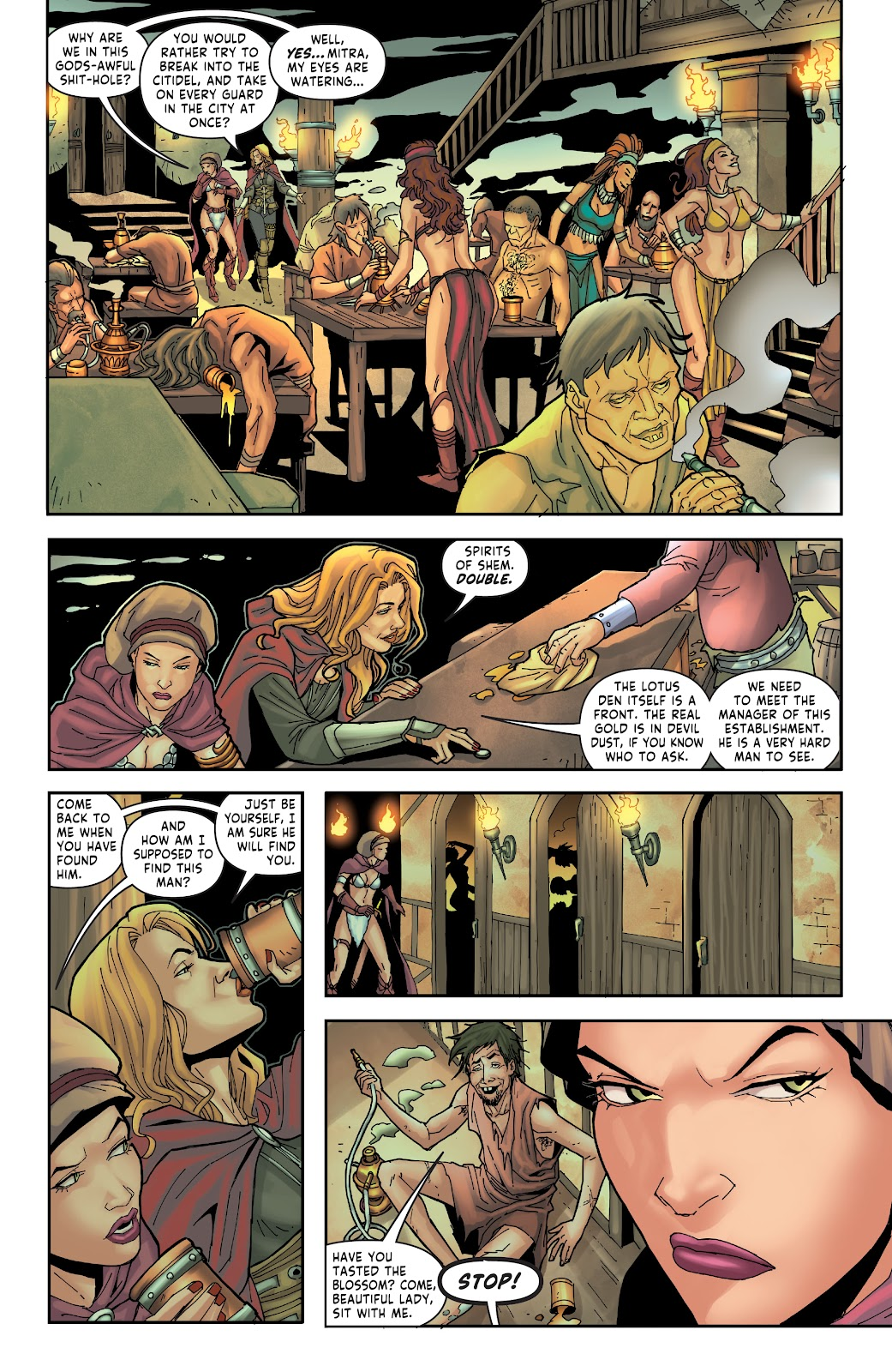Red Sonja: The Price of Blood issue 2 - Page 11