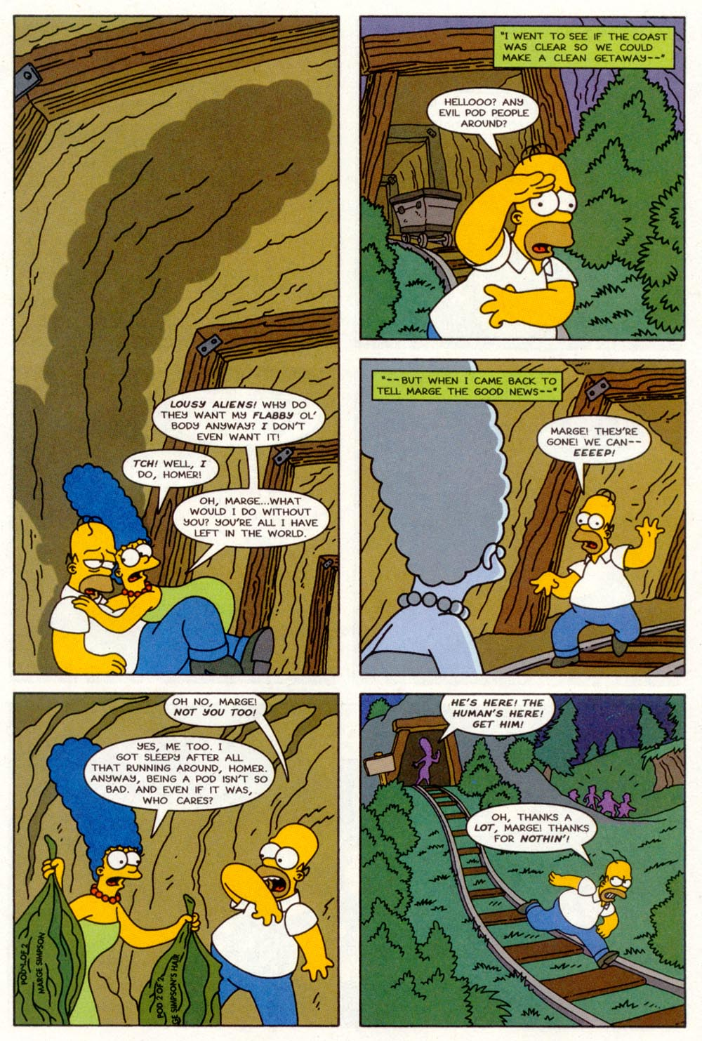 Read online Treehouse of Horror comic -  Issue #3 - 20