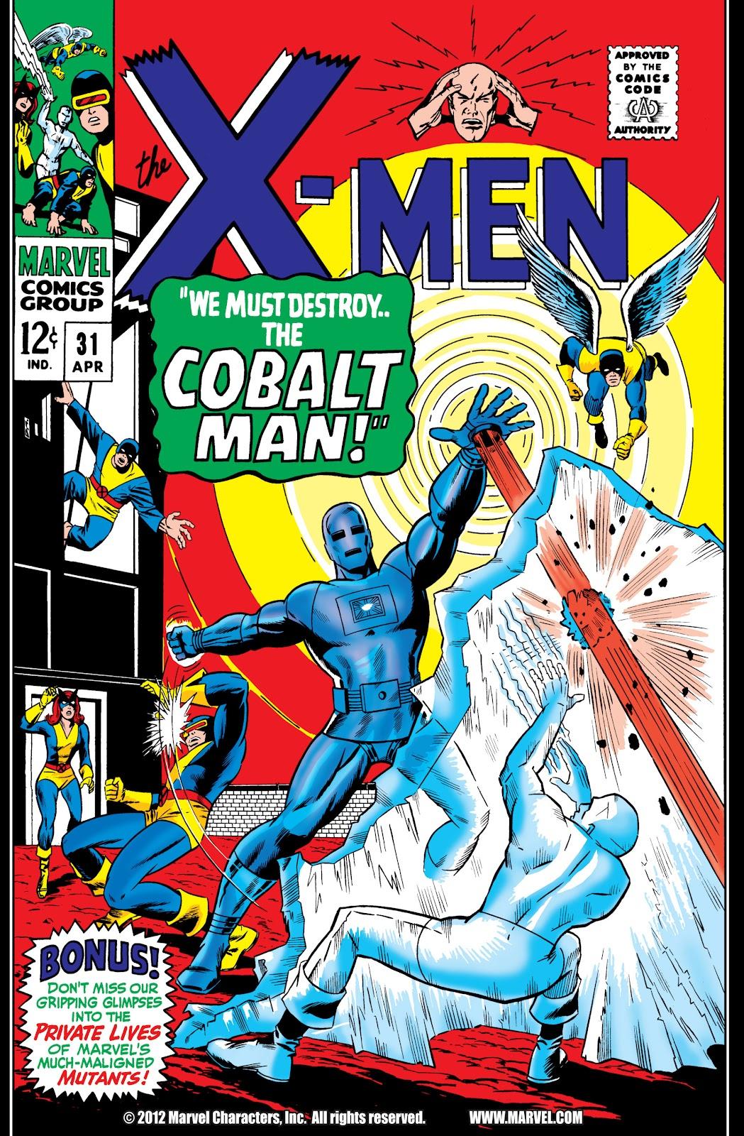 Uncanny X-Men (1963) issue 31 - Page 1