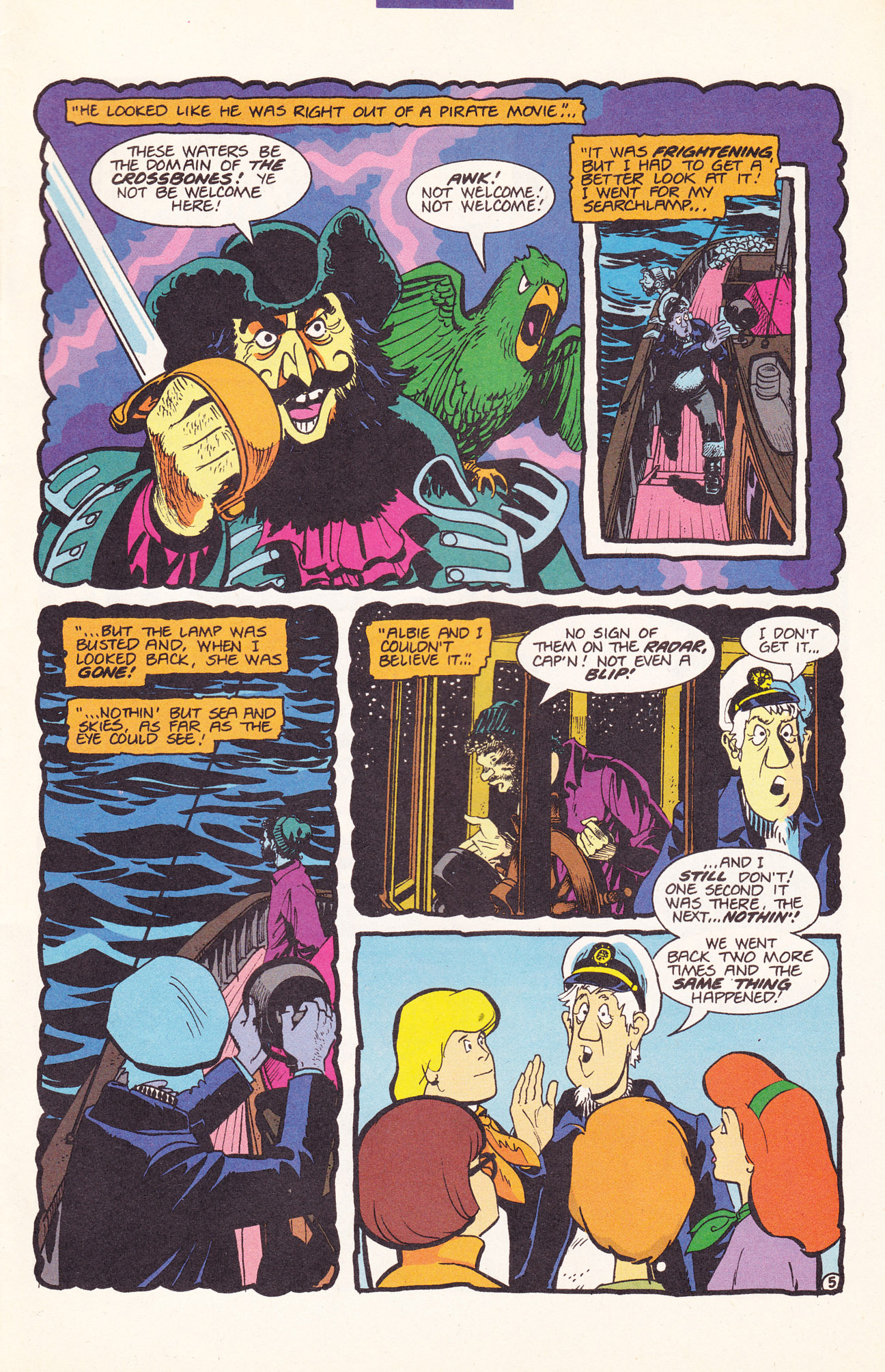 Read online Scooby-Doo (1995) comic -  Issue #17 - 7