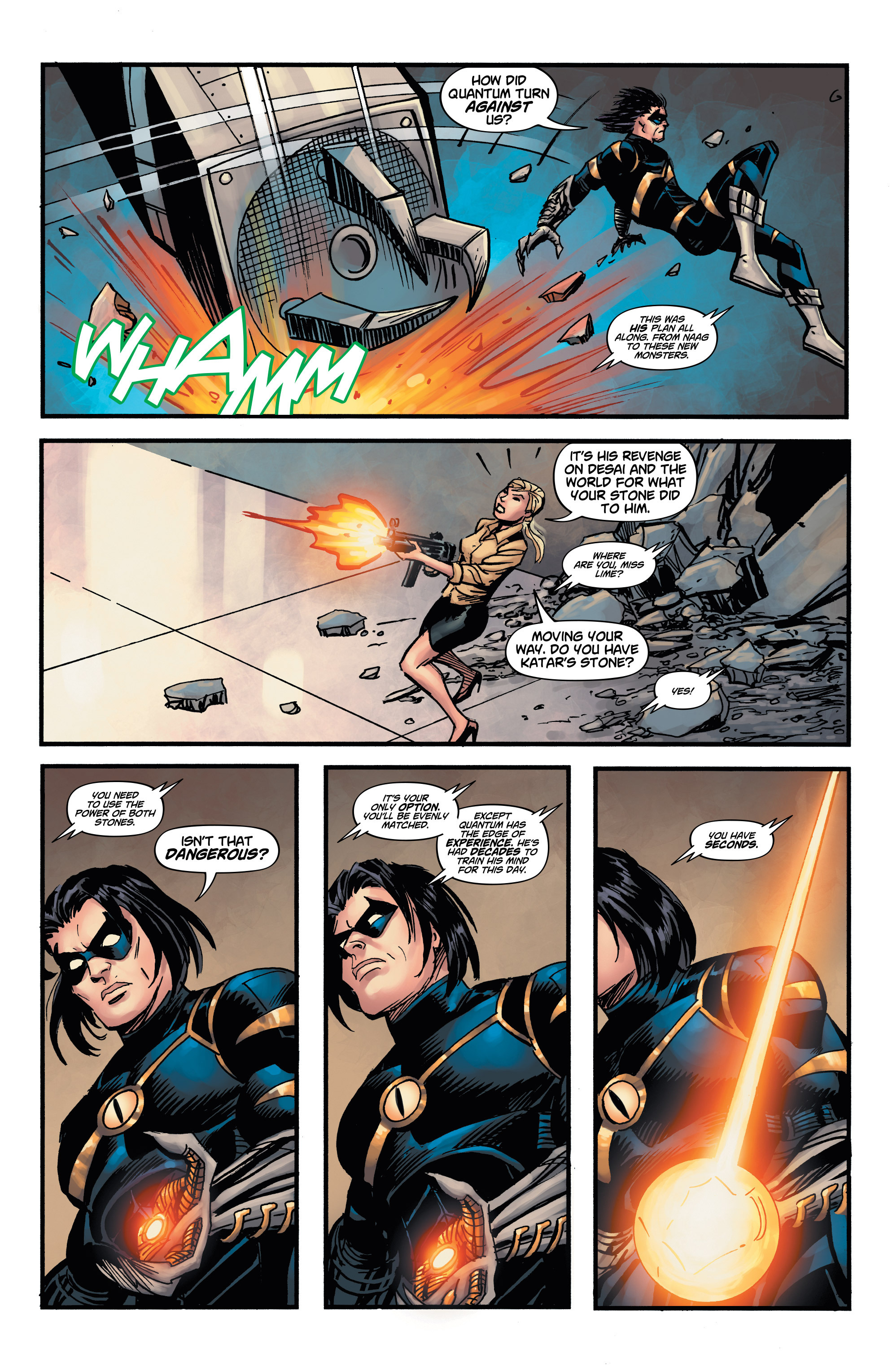 Read online Shadow Tiger comic -  Issue #4 - 19