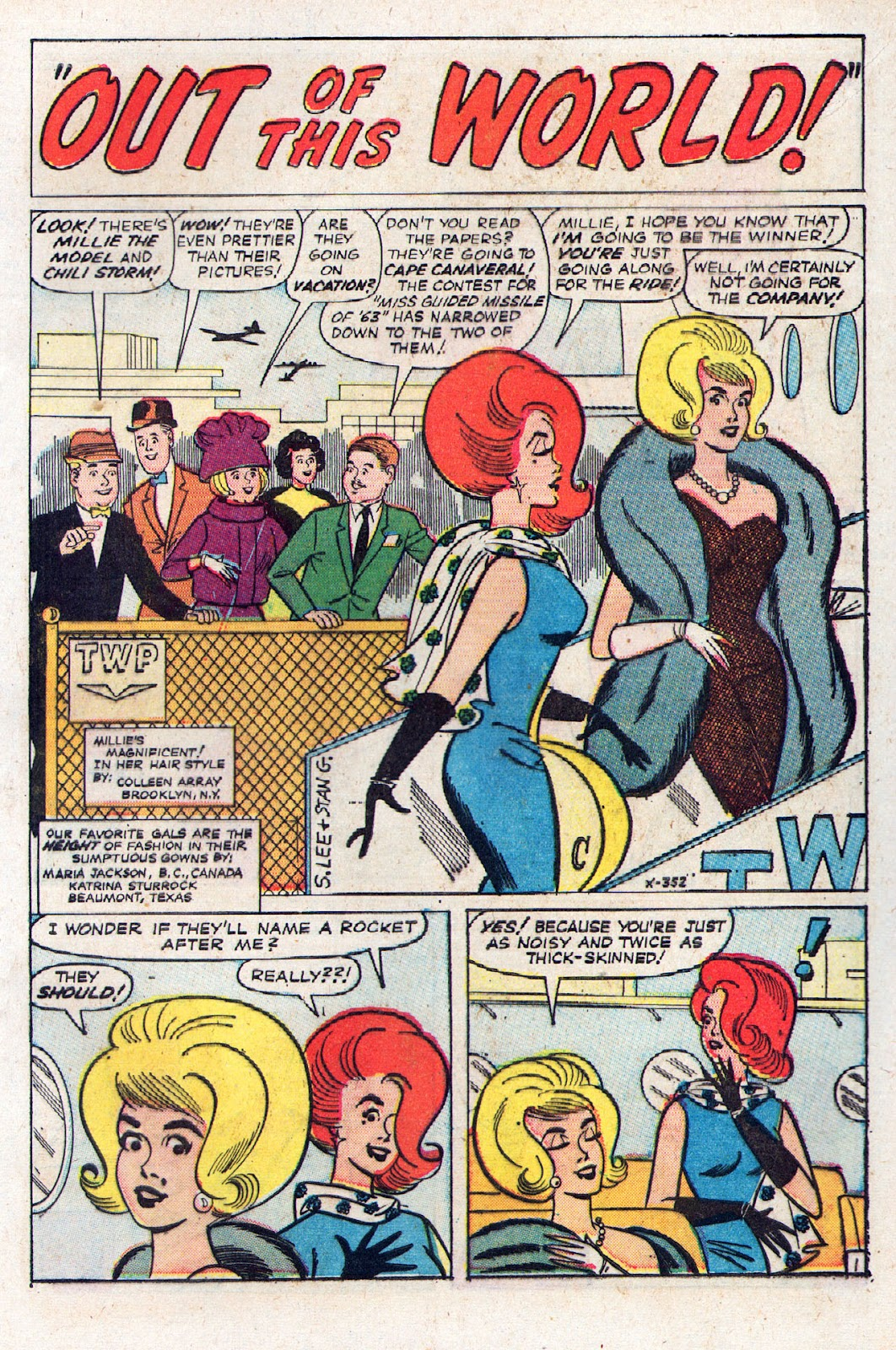 Read online Millie the Model comic -  Issue # Annual 2 - 43