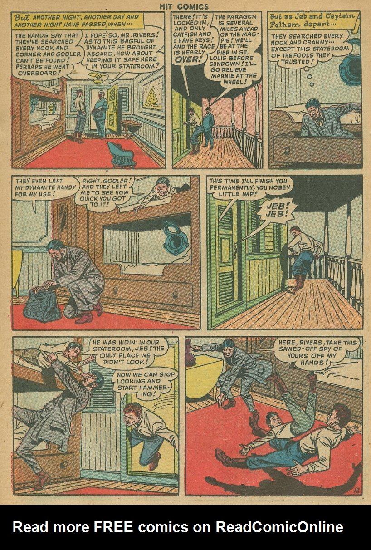 Read online Hit Comics comic -  Issue #61 - 14
