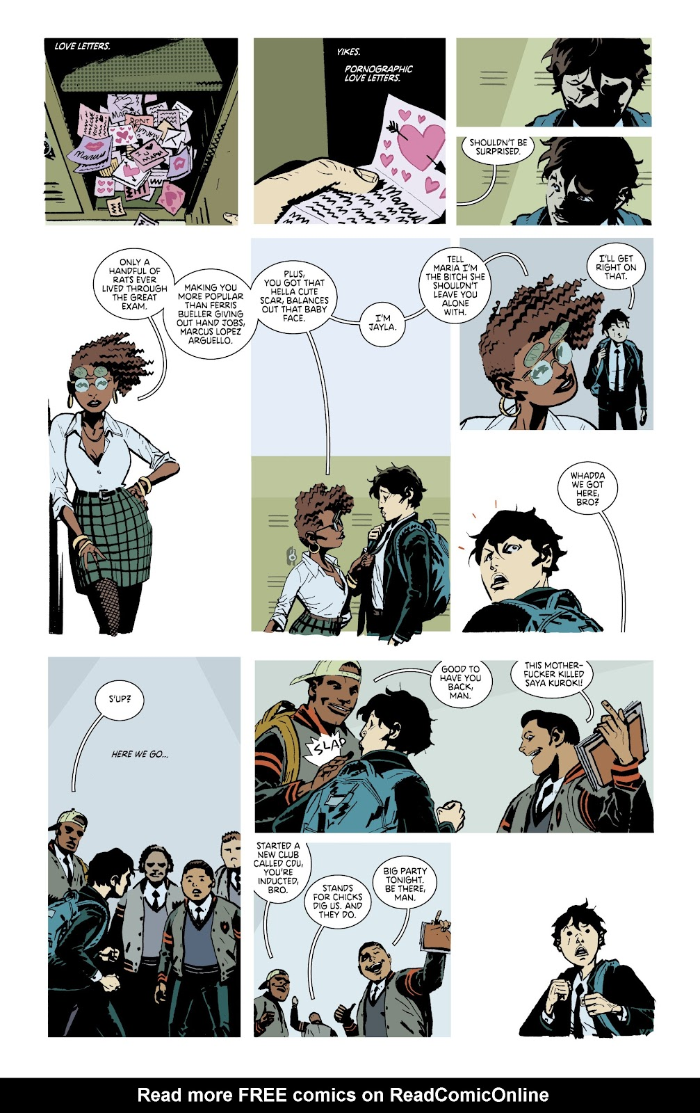 Read online Deadly Class comic -  Issue #38 - 18