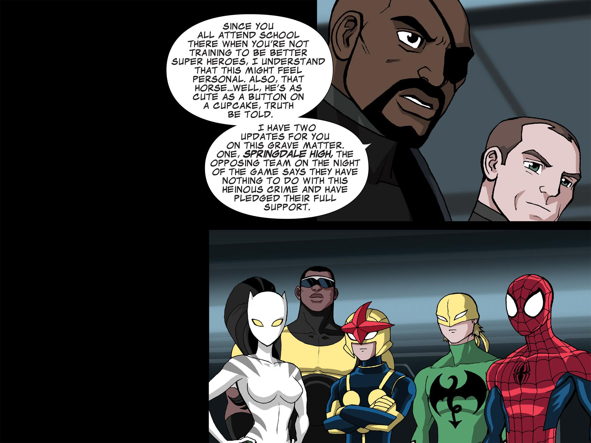 Read online Ultimate Spider-Man (Infinite Comics) (2015) comic -  Issue #21 - 4