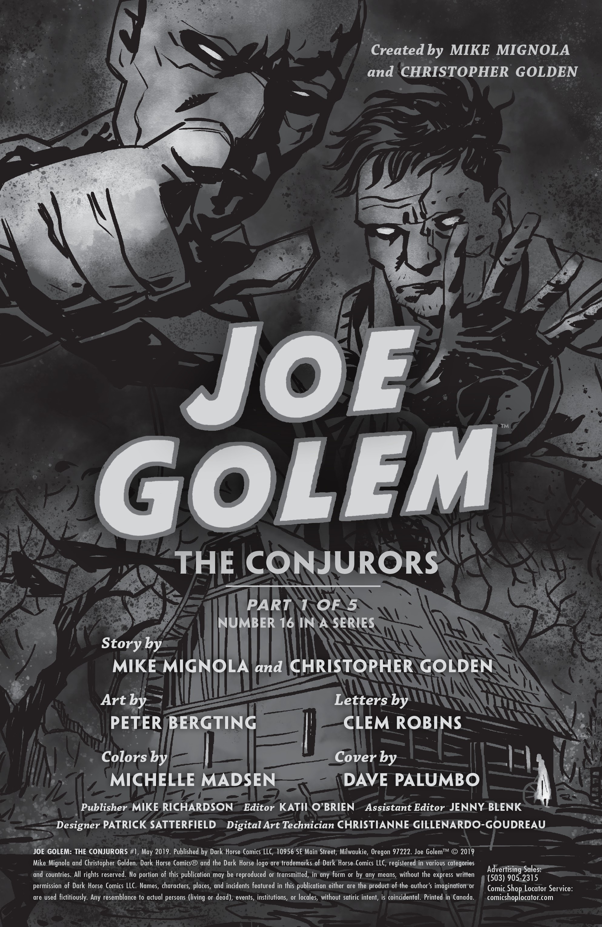 Joe Golem: Occult Detective--The Conjurors 1 Page 2