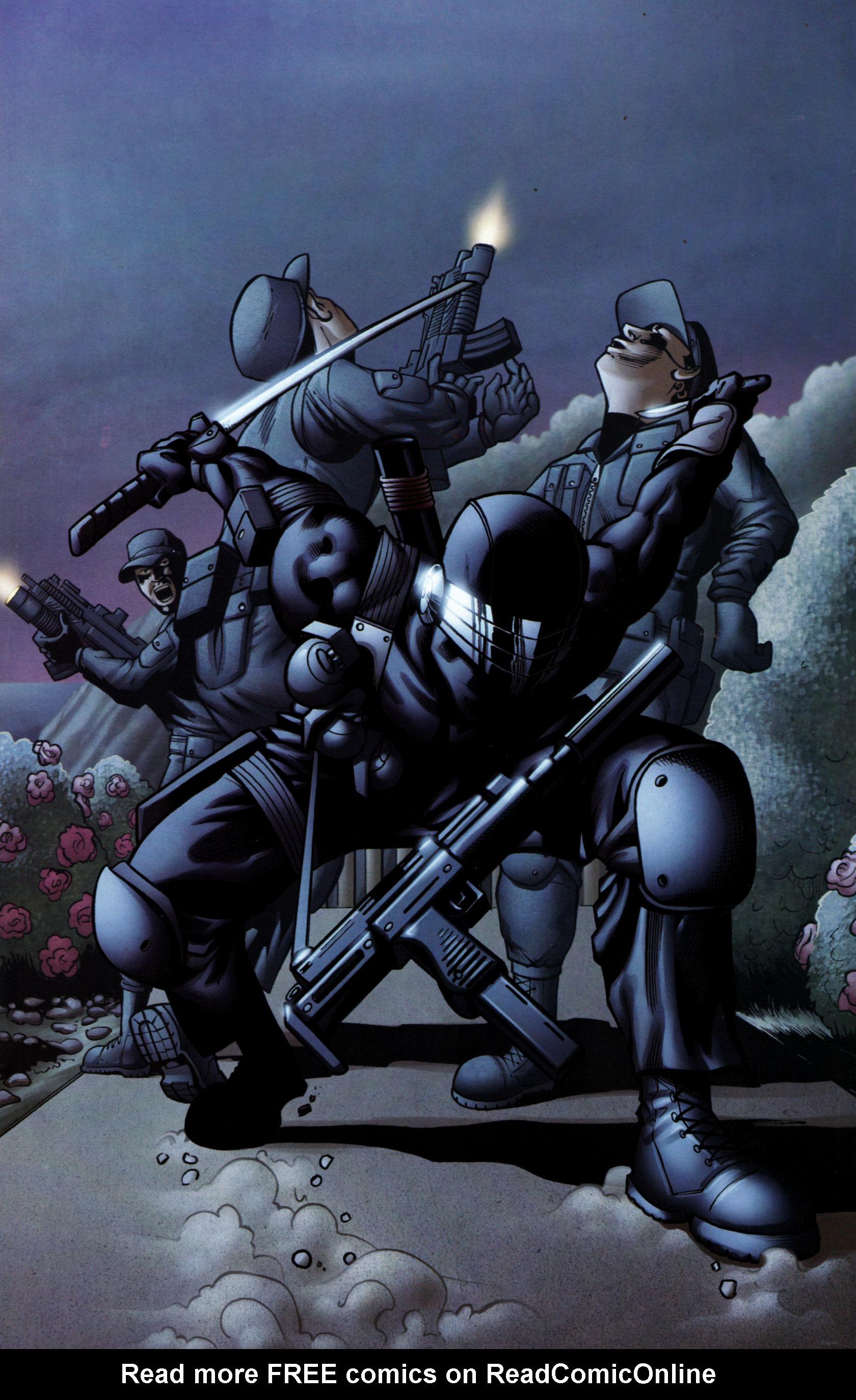 Read online G.I. Joe: Snake Eyes comic -  Issue #6 - 10