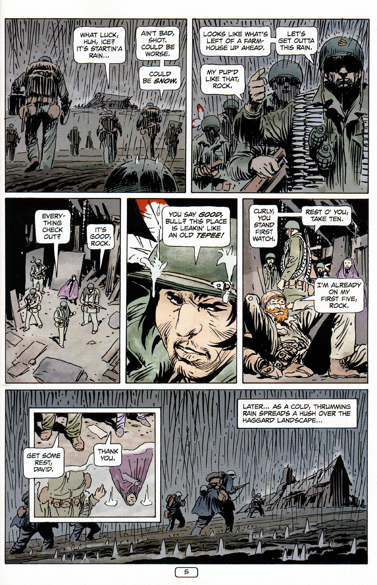 Read online Sgt. Rock: The Prophecy comic -  Issue #3 - 6