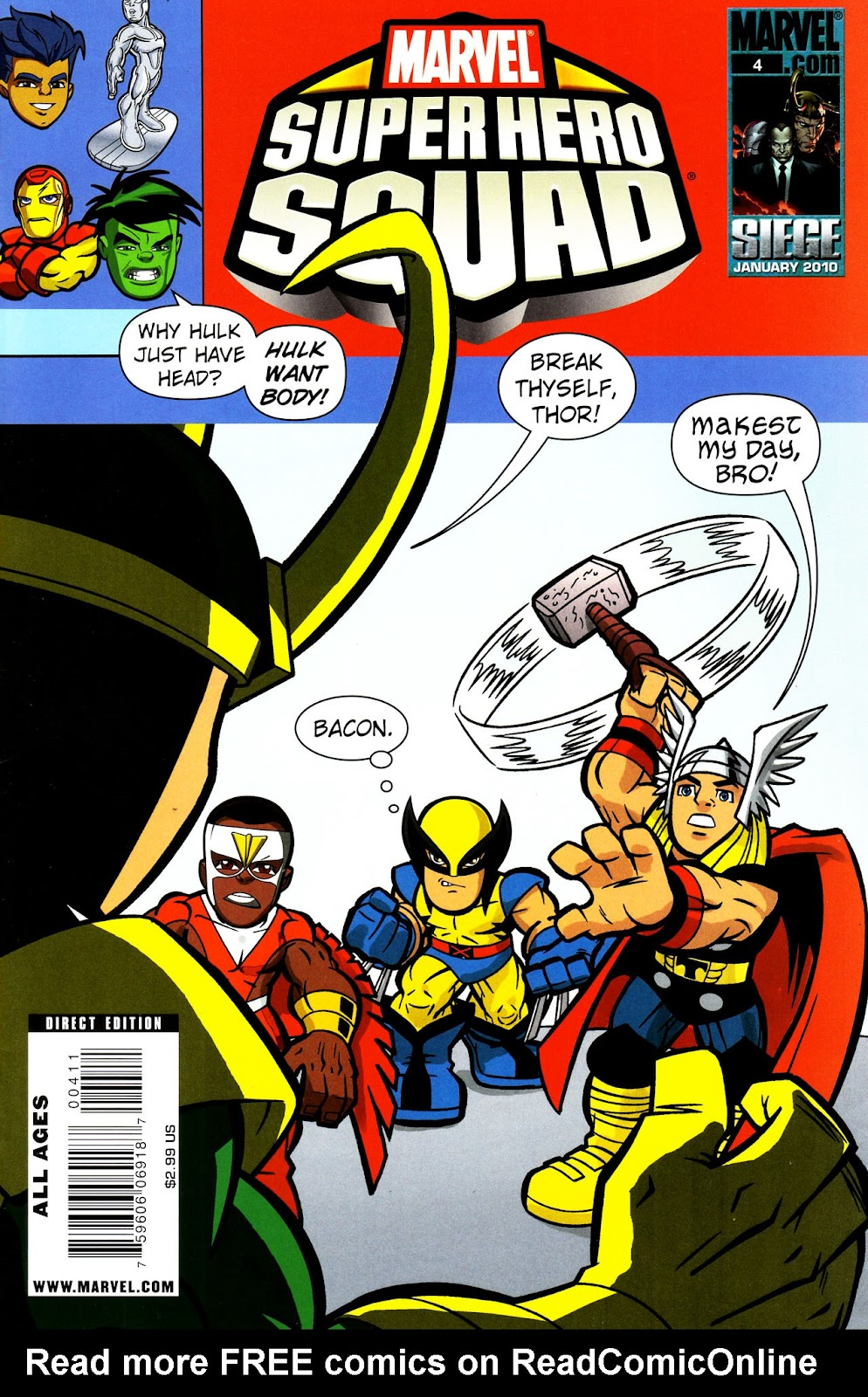 Marvel Super Hero Squad issue 4 - Page 1