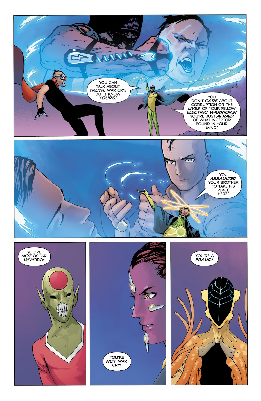 Read online Electric Warriors comic -  Issue #5 - 14