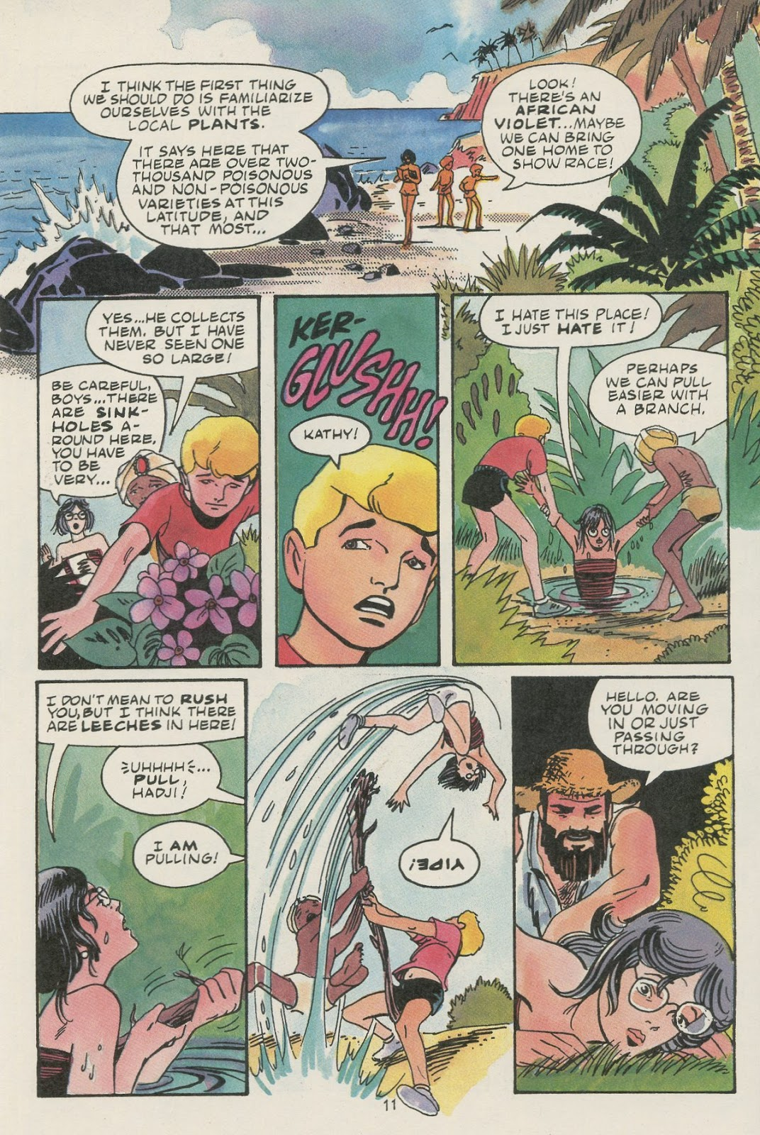 Jonny Quest (1986) issue 17 - Page 13