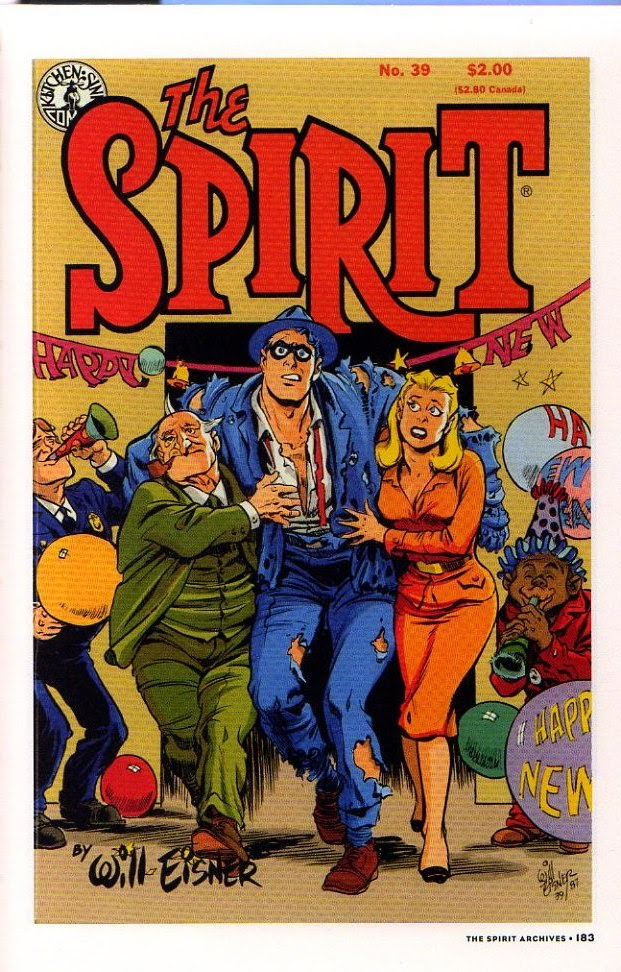 Read online Will Eisner's The Spirit Archives comic -  Issue # TPB 26 (Part 2) - 90